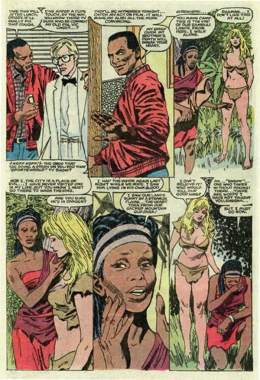 Read online Sheena comic -  Issue #1 - 10