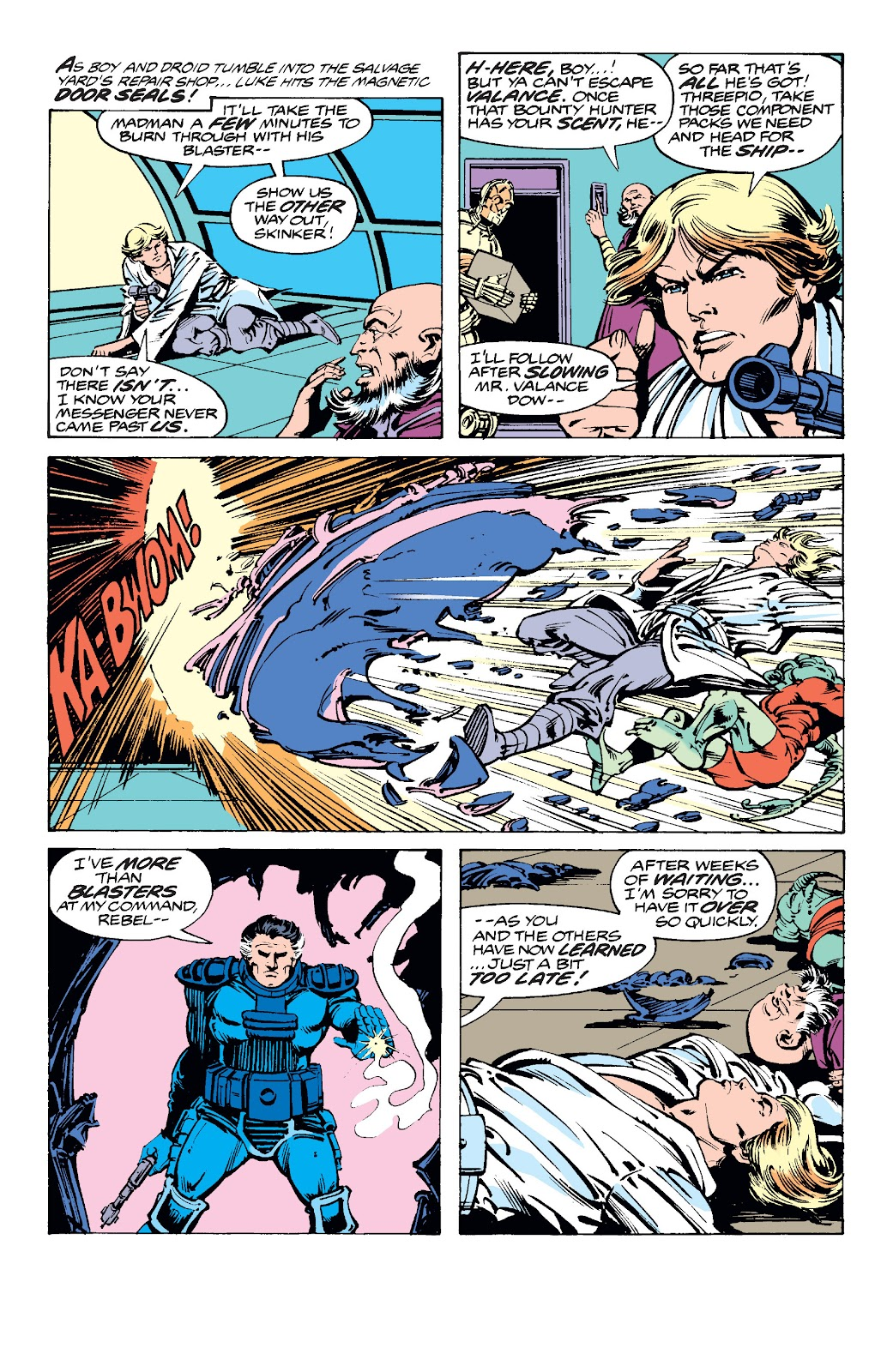 Read online Star Wars Legends: The Original Marvel Years - Epic Collection comic -  Issue # TPB 2 (Part 1) - 73
