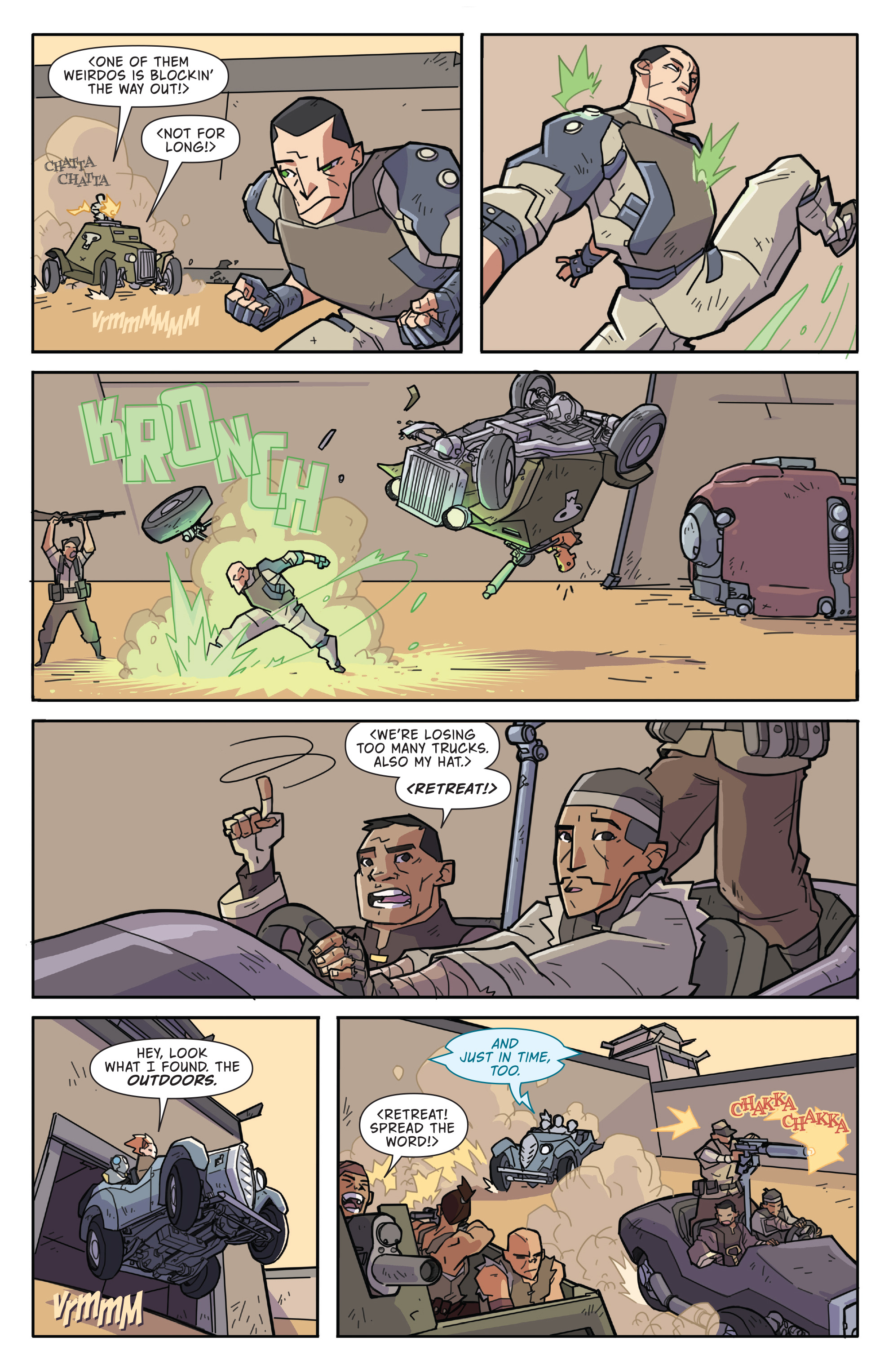 Read online Atomic Robo and the Temple of Od comic -  Issue #2 - 23