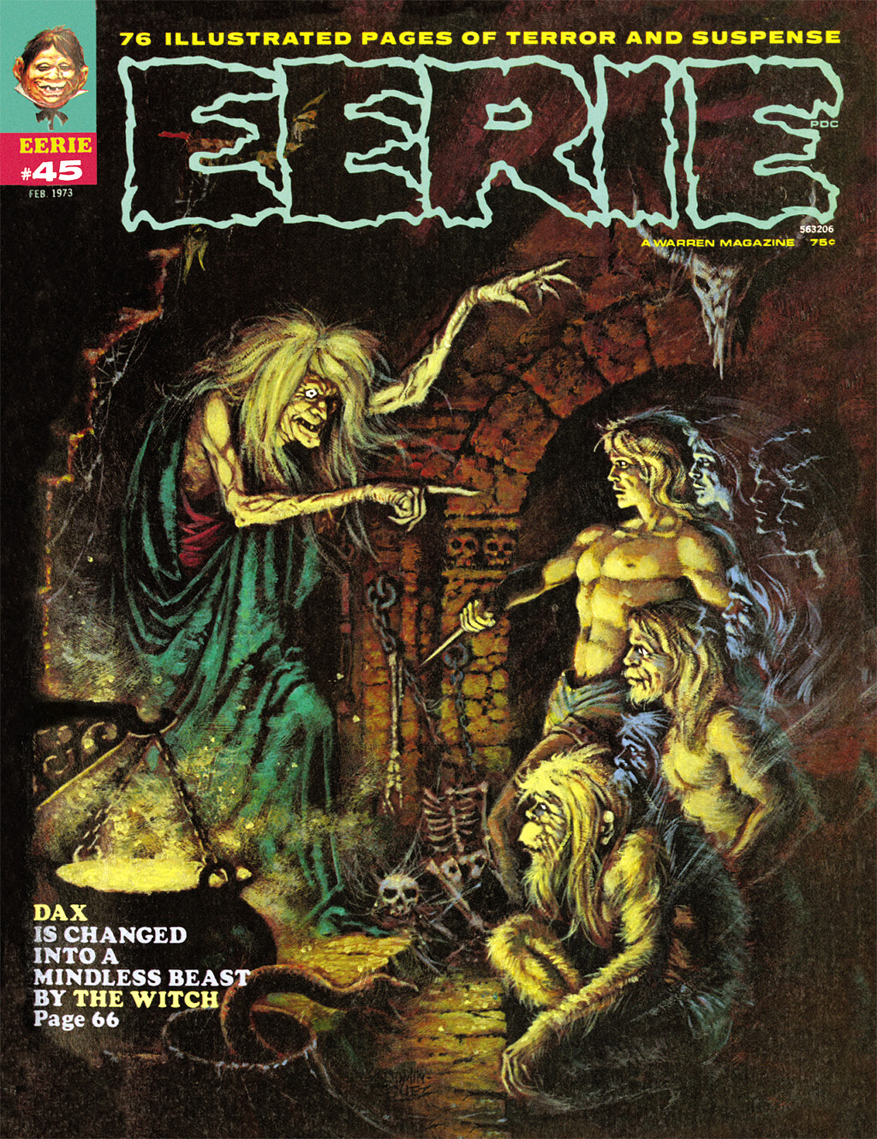 Read online Eerie Archives comic -  Issue # TPB 9 - 142