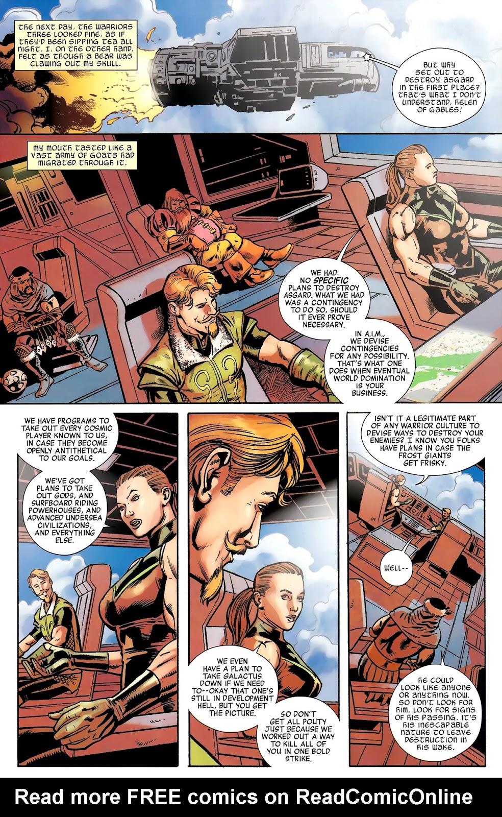 Warriors Three Issue #3 #3 - English 22