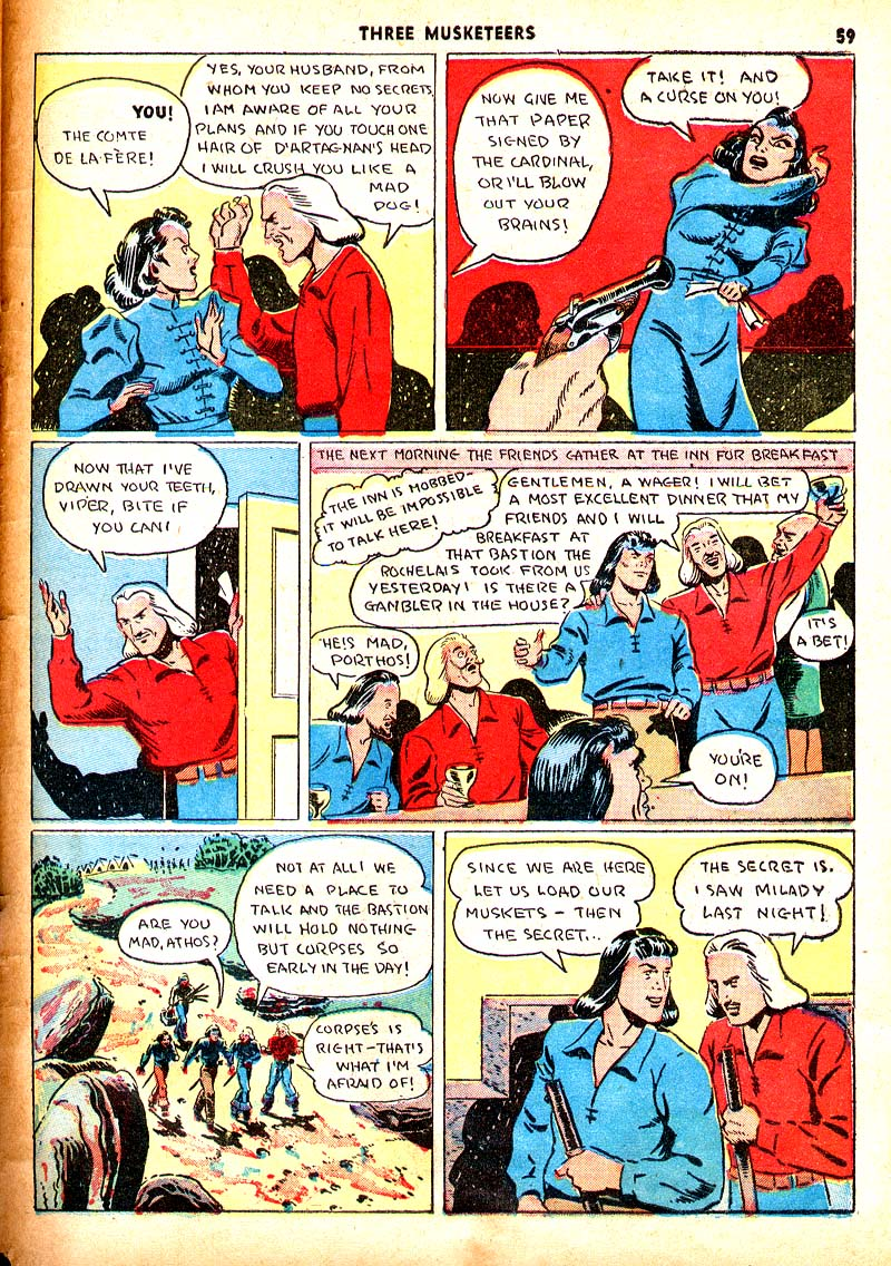 Read online Shadow Comics comic -  Issue #7 - 52