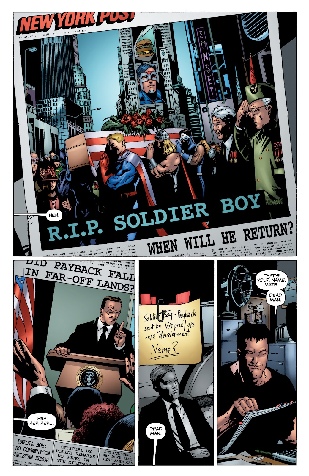Read online The Boys Omnibus comic -  Issue # TPB 4 (Part 1) - 10