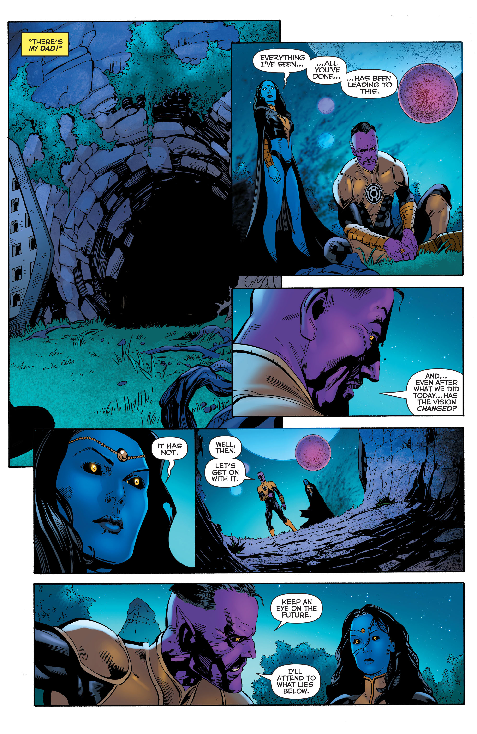 Read online Sinestro comic -  Issue #23 - 19