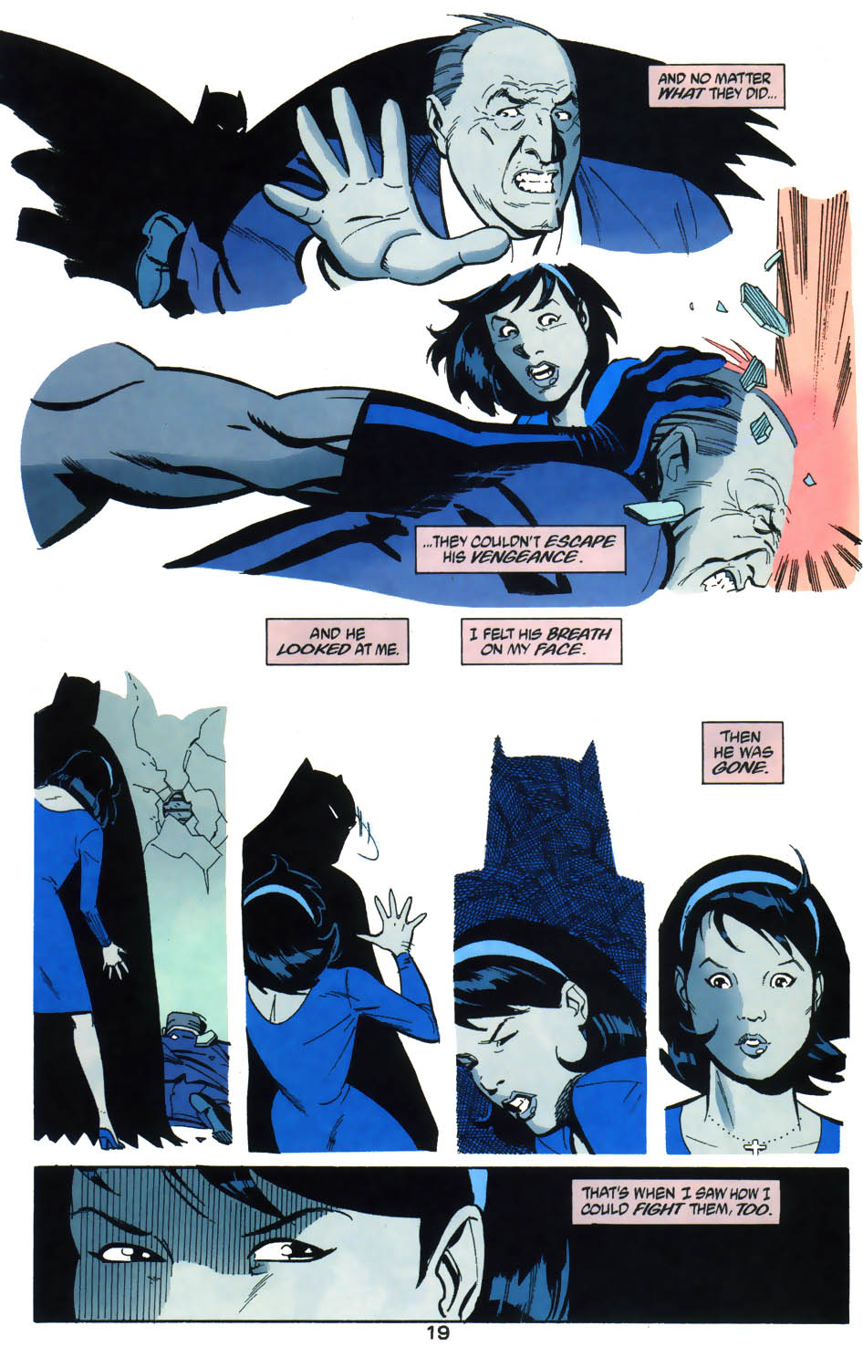 Read online Batman/Huntress: Cry for Blood comic -  Issue #4 - 20