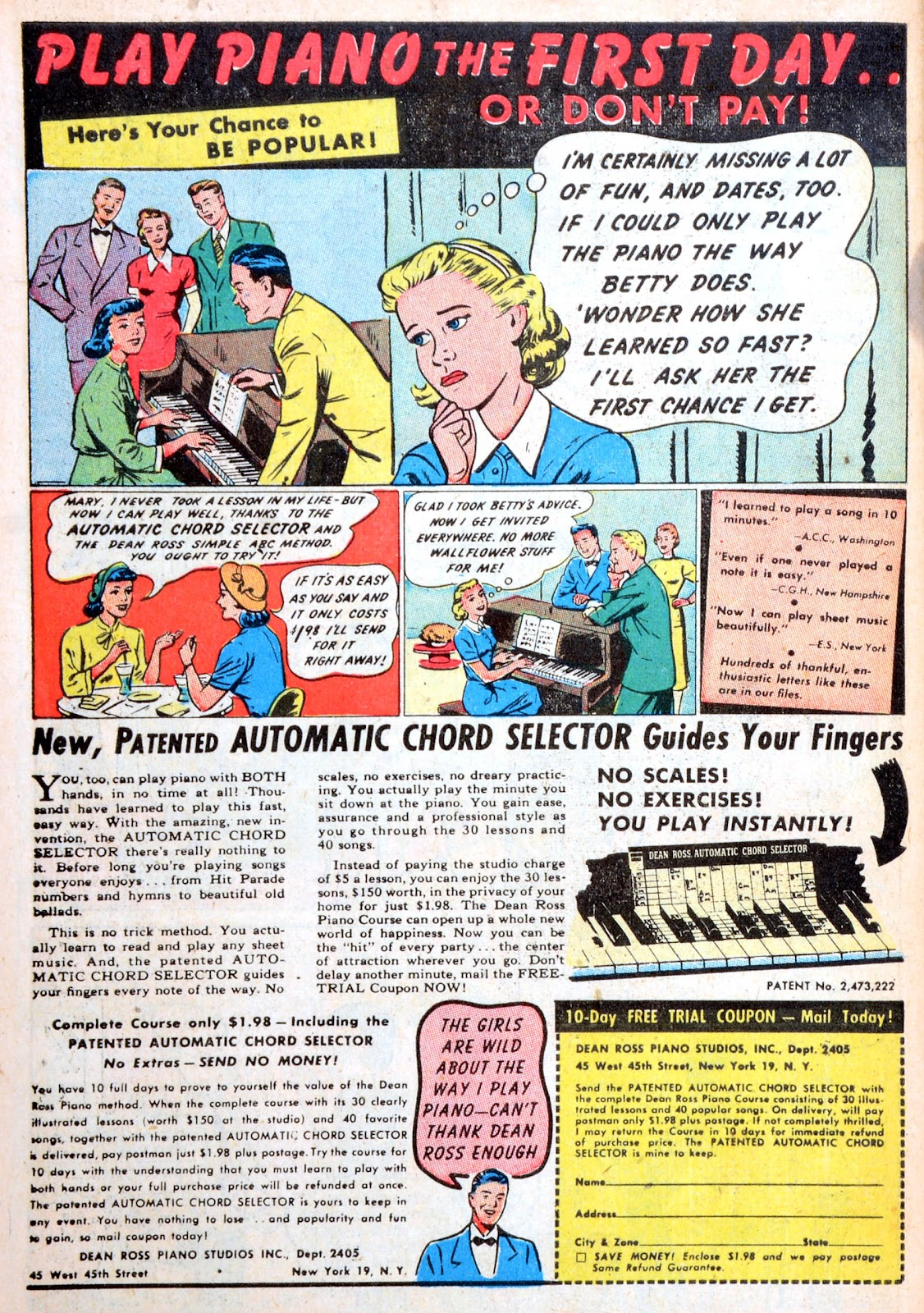 Read online Famous Funnies comic -  Issue #194 - 49