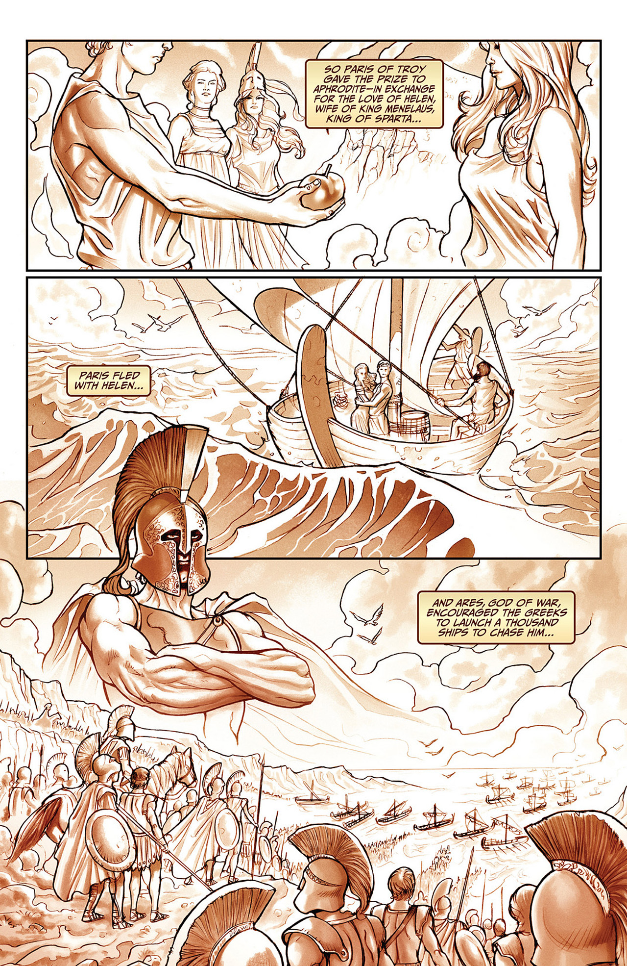 Read online Athena comic -  Issue #2 - 15