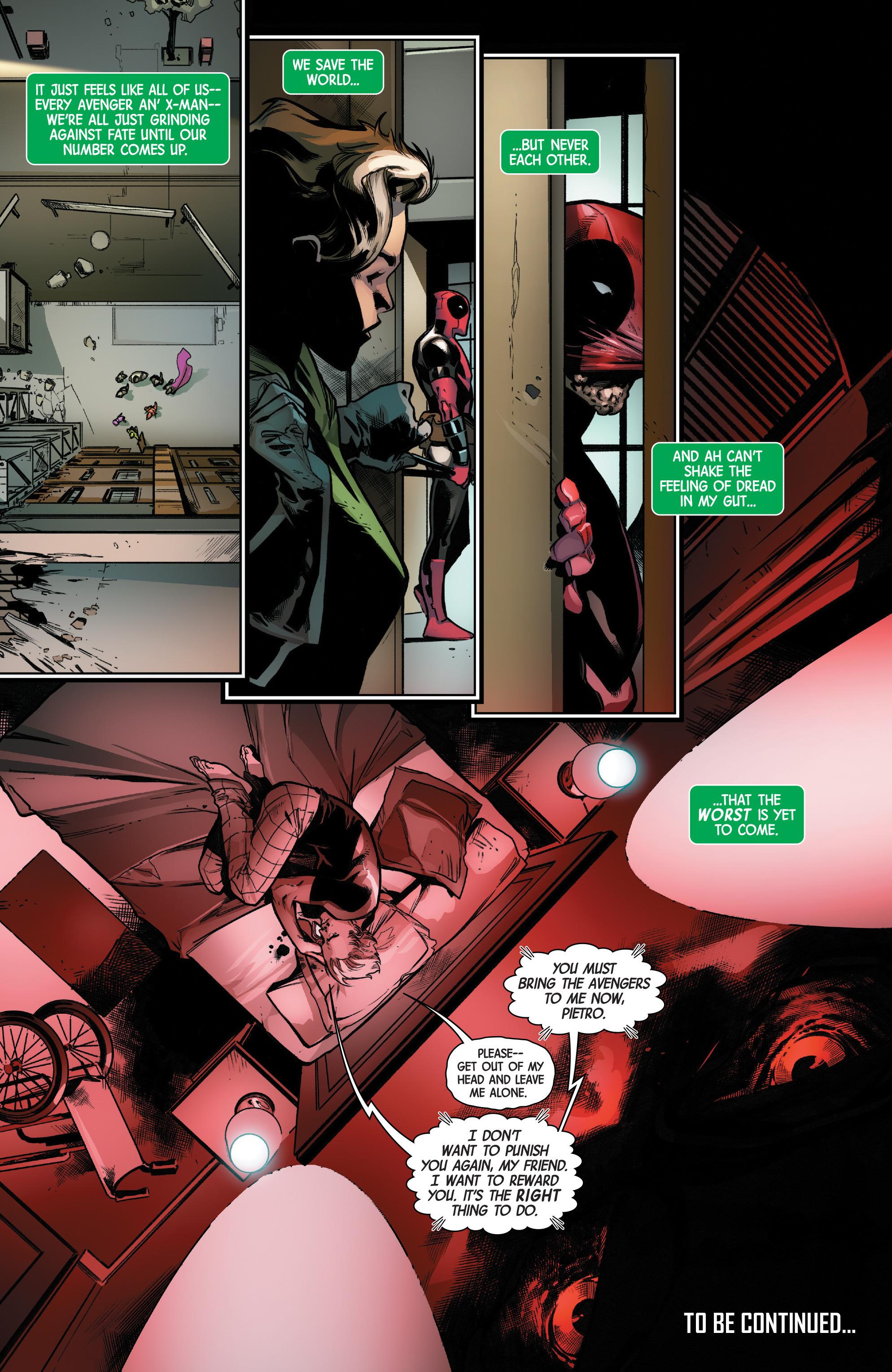 Read online Uncanny Avengers [II] comic -  Issue #17 - 22