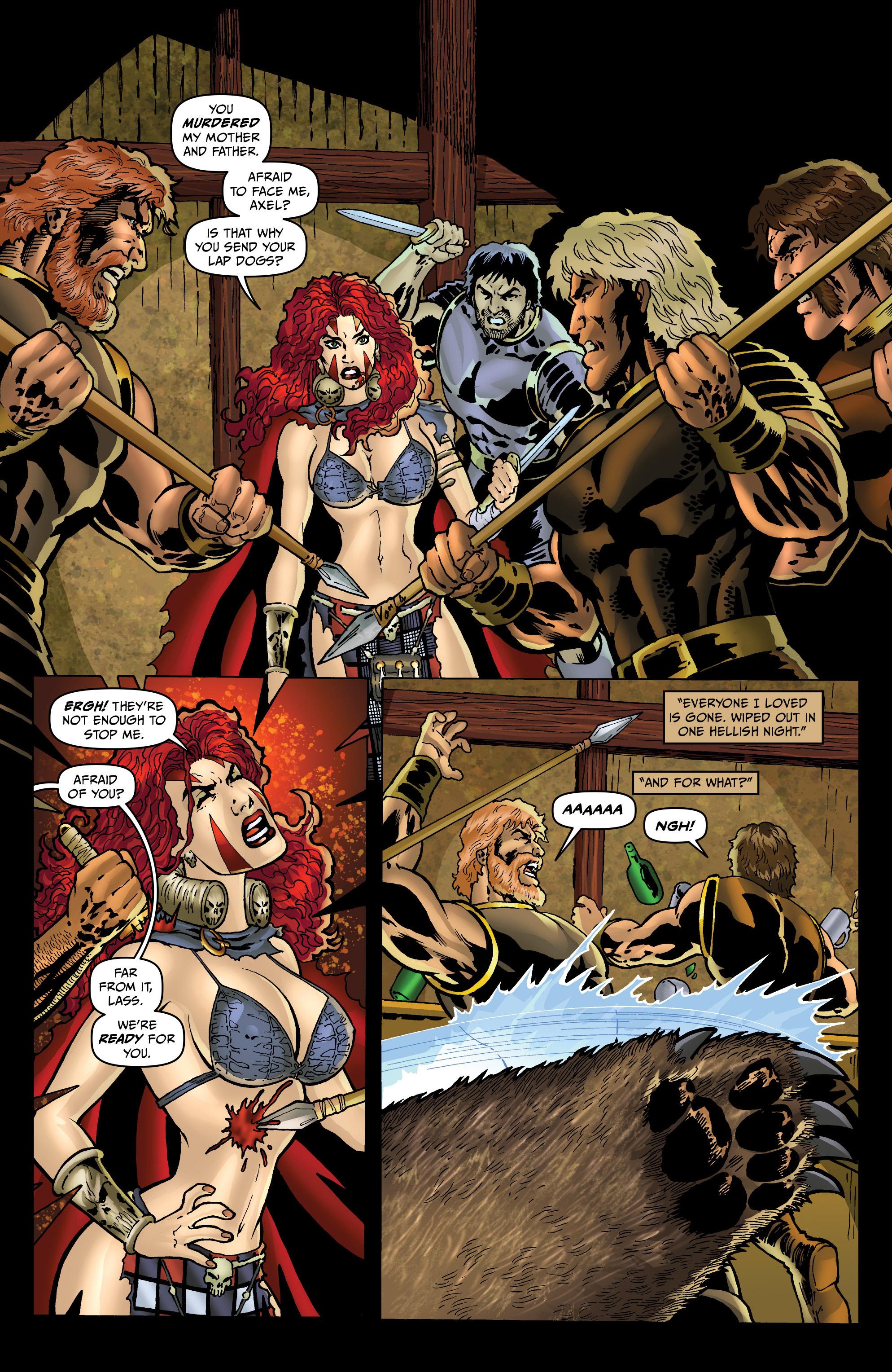 Read online Belladonna: Origins comic -  Issue #4 - 10