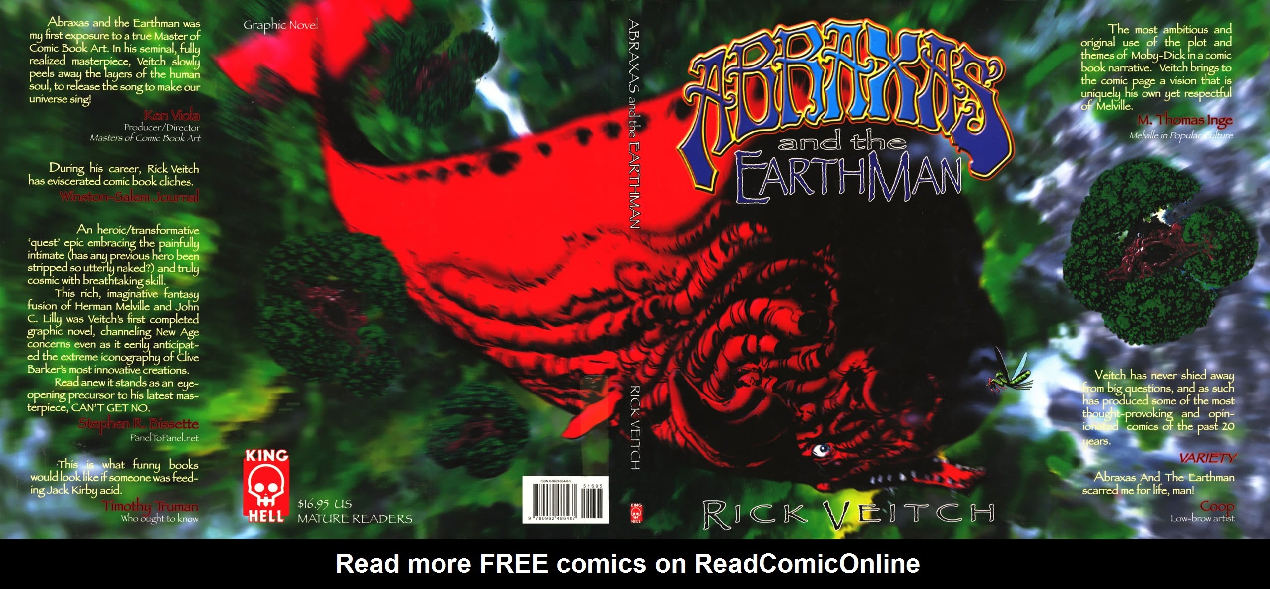 Abraxas and the EarthMan TPB Page 1