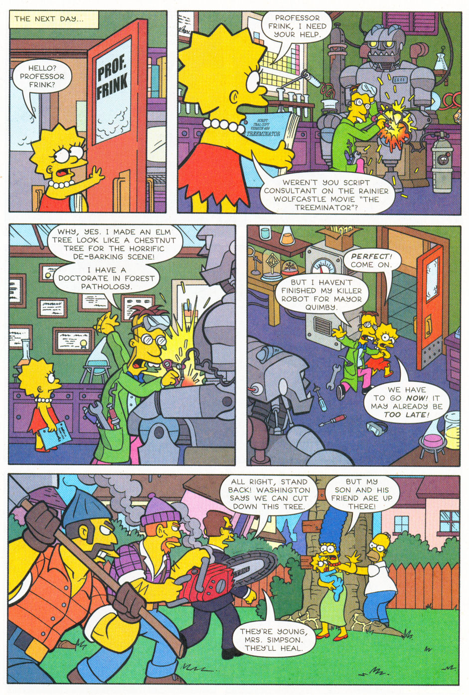 Read online Simpsons Comics Presents Bart Simpson comic -  Issue #26 - 10