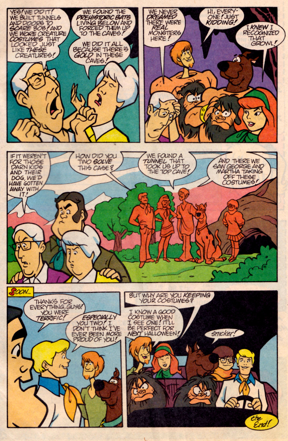 Read online Scooby-Doo (1995) comic -  Issue #18 - 27