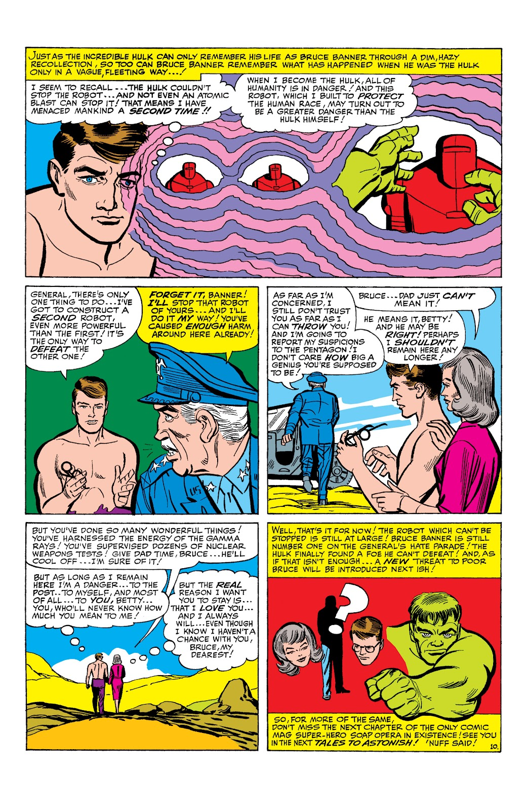 Read online Marvel Masterworks: The Incredible Hulk comic -  Issue # TPB 2 (Part 1) - 33