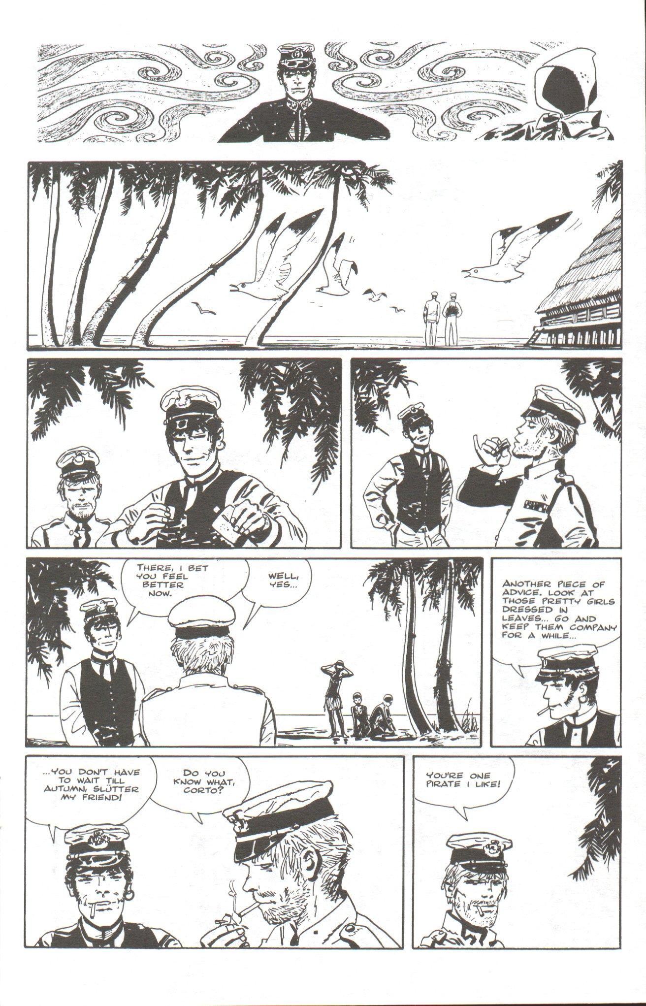 Read online Corto Maltese: Ballad of the Salt Sea comic -  Issue #6 - 11