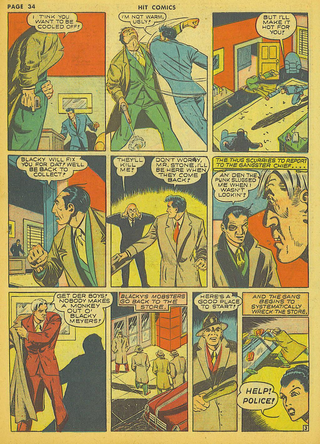 Read online Hit Comics comic -  Issue #21 - 36