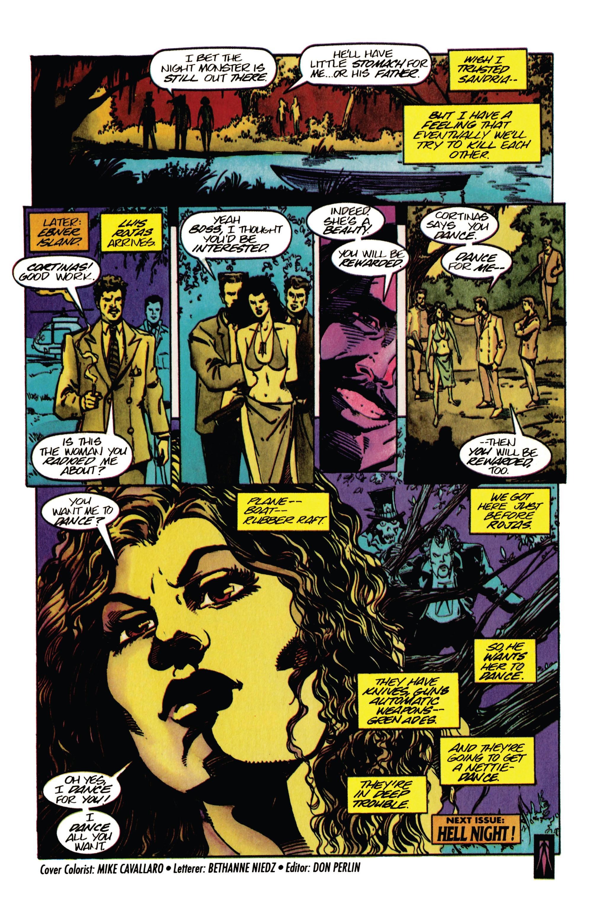 Read online Shadowman (1992) comic -  Issue #33 - 21