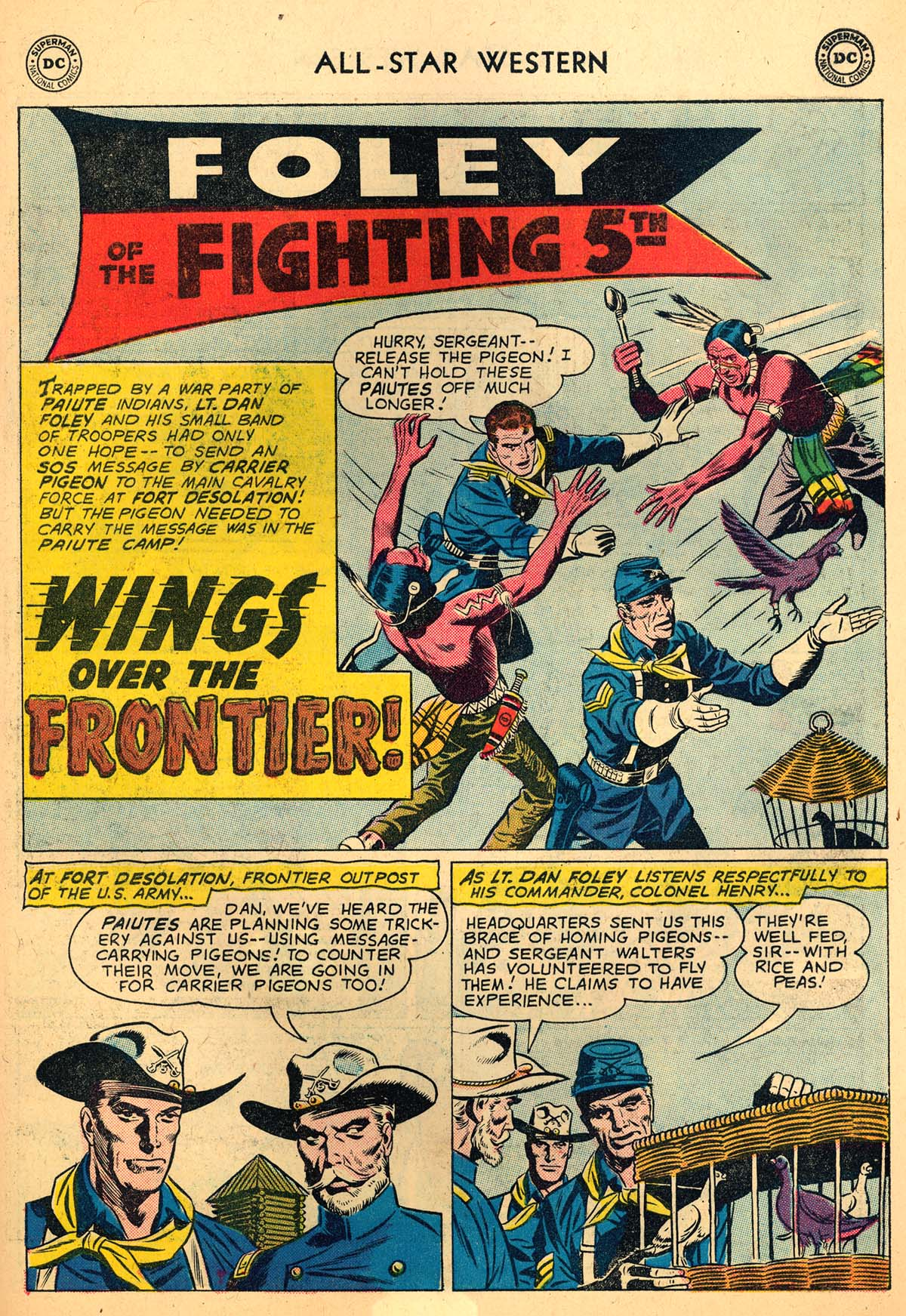 Read online All-Star Western (1951) comic -  Issue #110 - 15