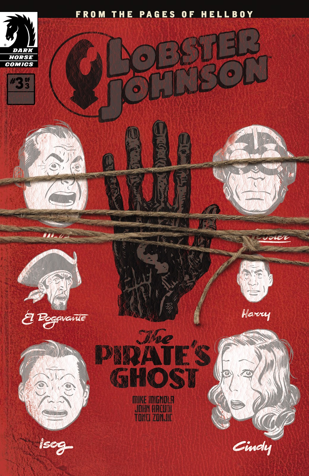 Lobster Johnson: The Pirate's Ghost issue 3 - Page 1