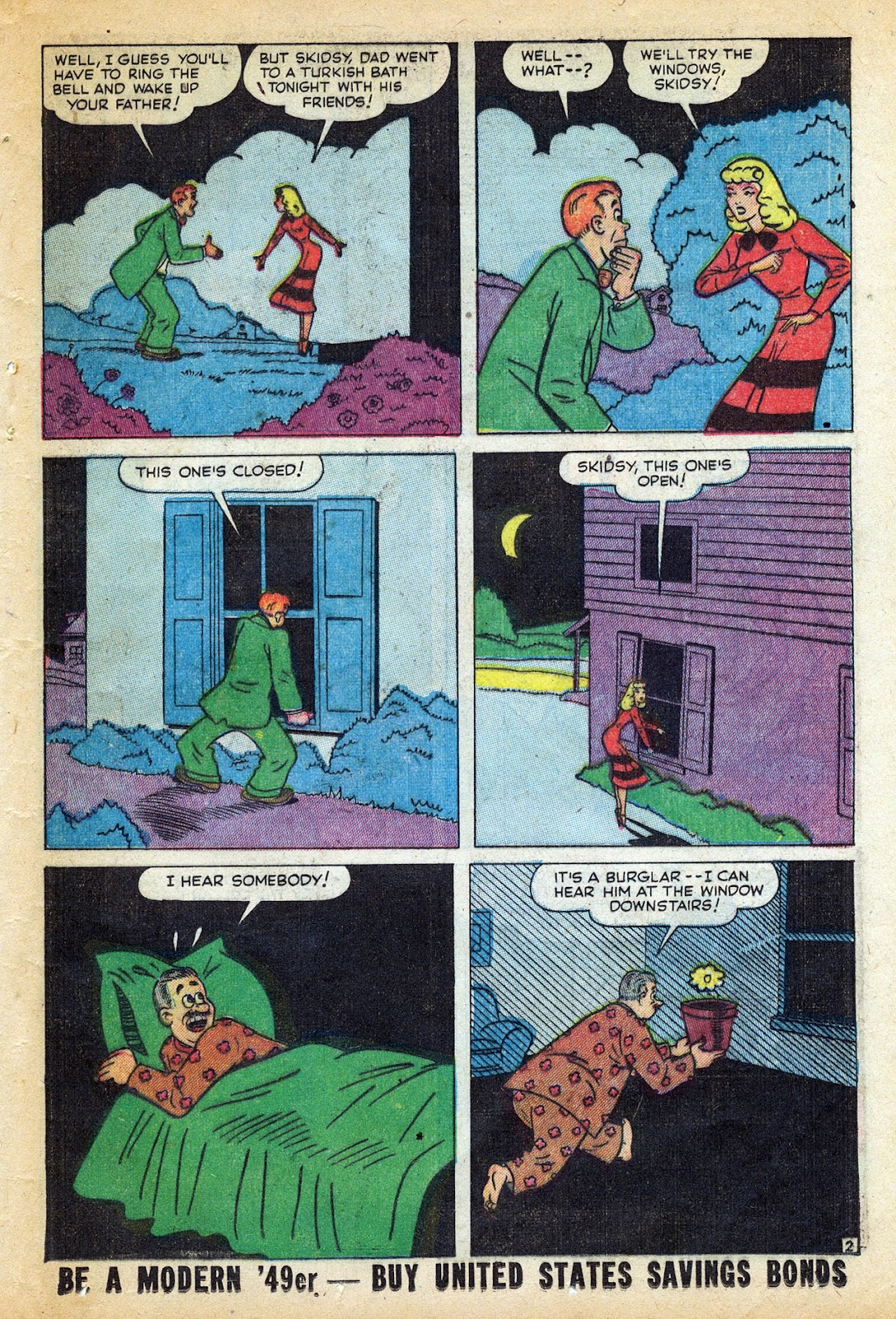 Read online Nellie The Nurse (1945) comic -  Issue #20 - 37