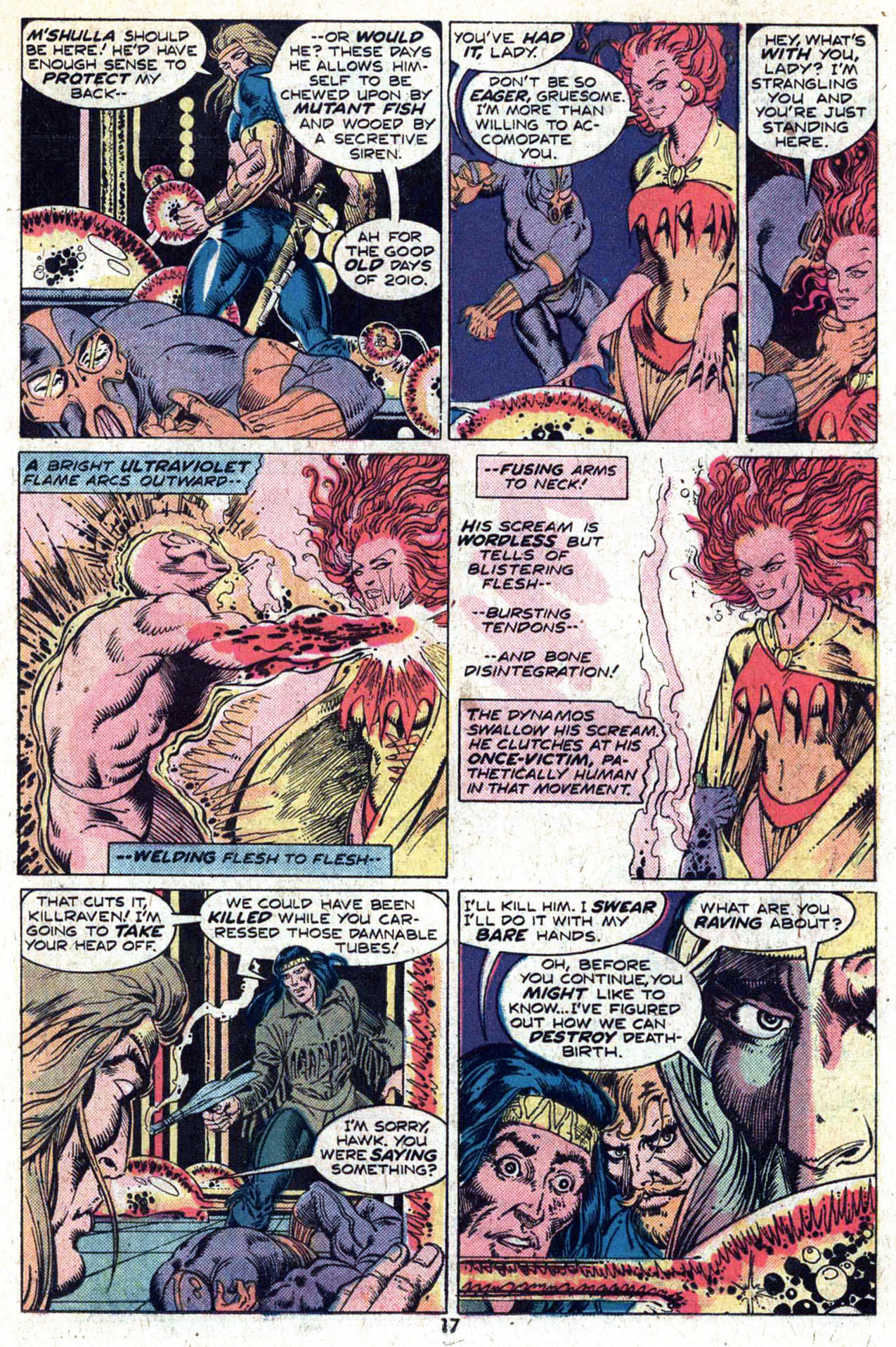 Read online Amazing Adventures (1970) comic -  Issue #29 - 19
