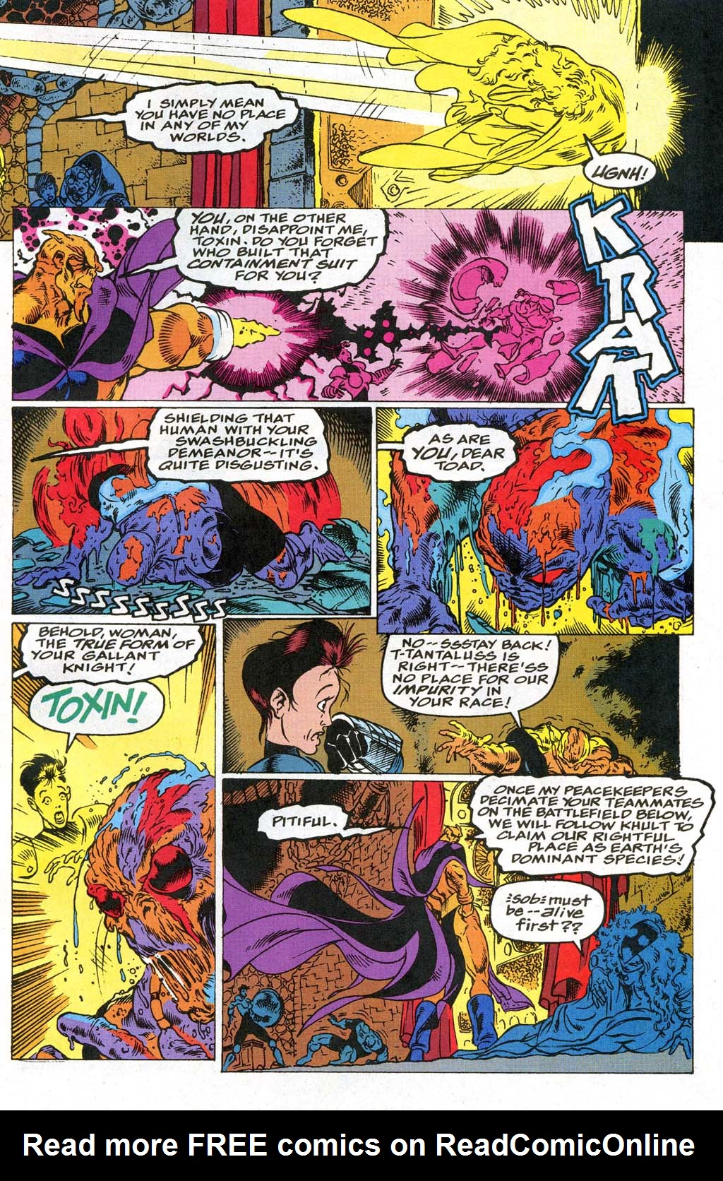 Read online Blackwulf comic -  Issue #9 - 10