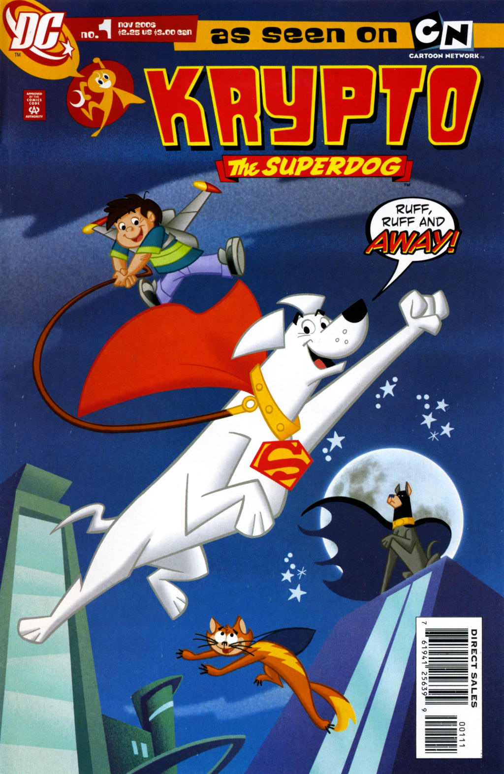 Read online Krypto the Superdog comic -  Issue #1 - 1