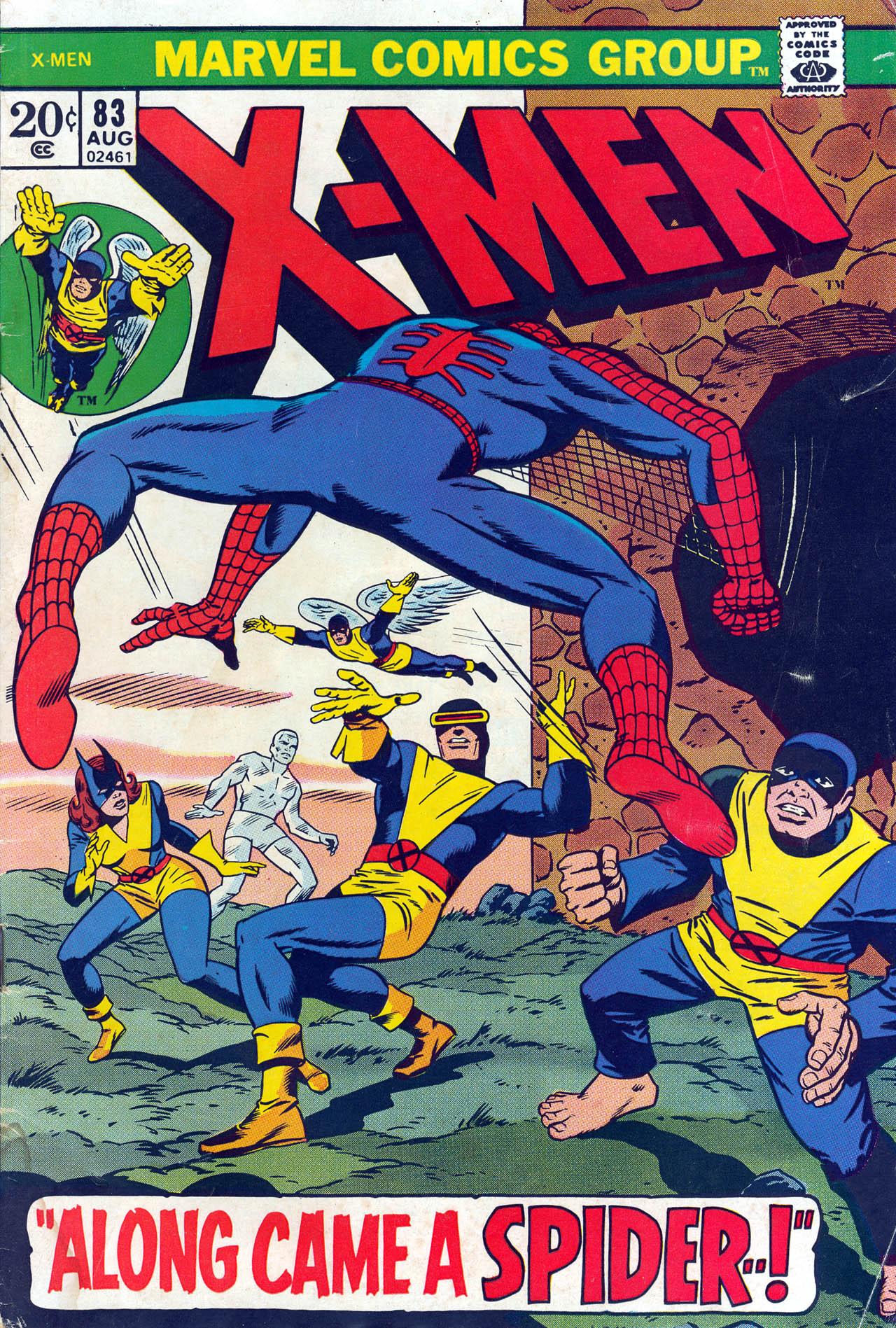 Uncanny X-Men (1963) 83 Page 1