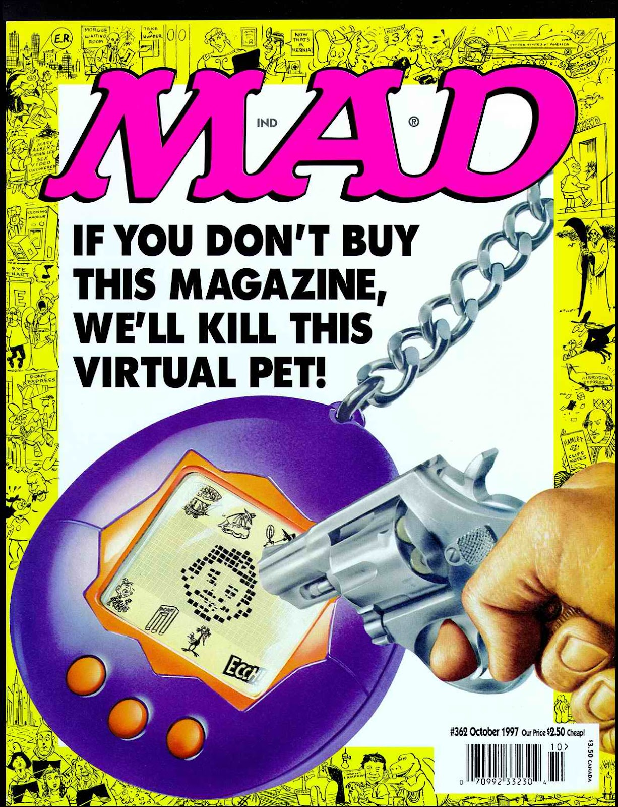 MAD issue 362 - Page 1