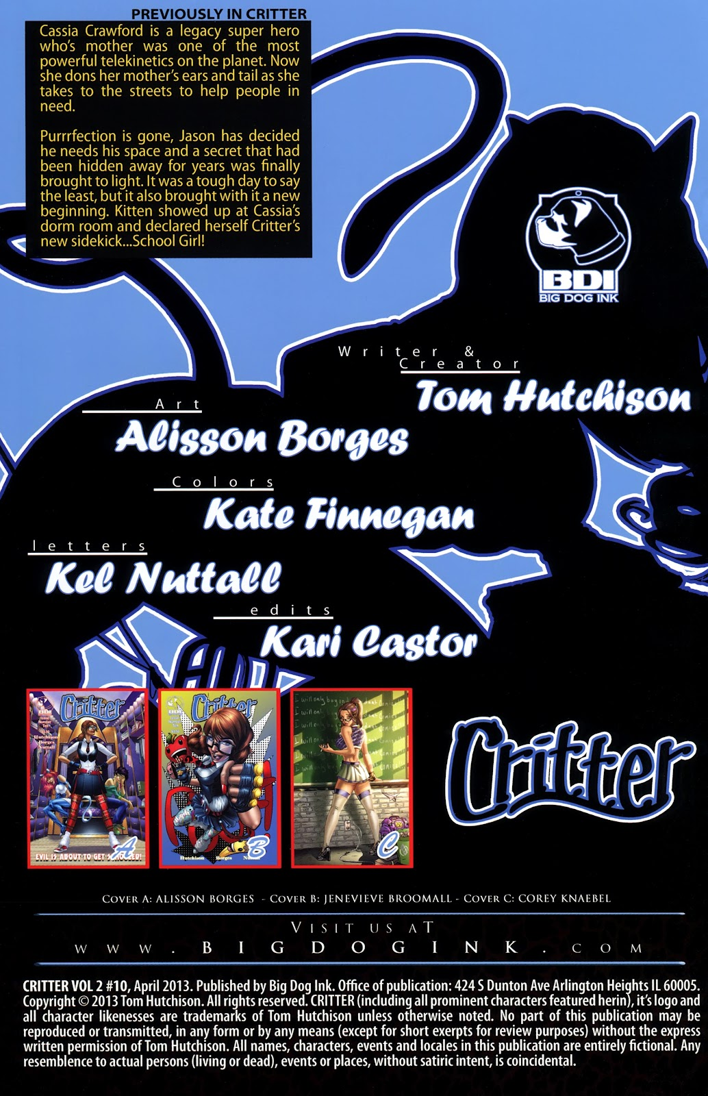 Read online Critter (2012) comic -  Issue #10 - 2