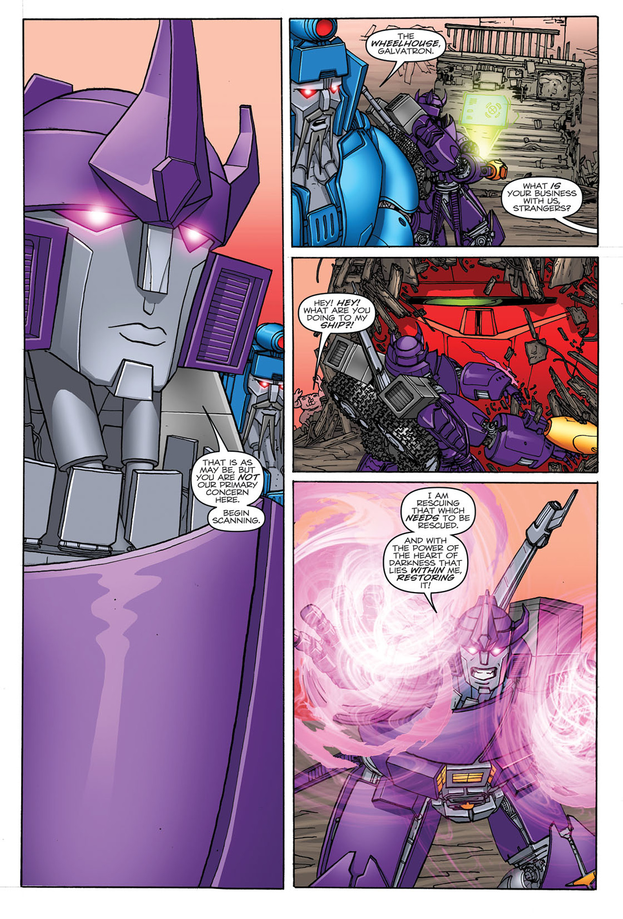 Read online Transformers: Heart of Darkness comic -  Issue #3 - 11
