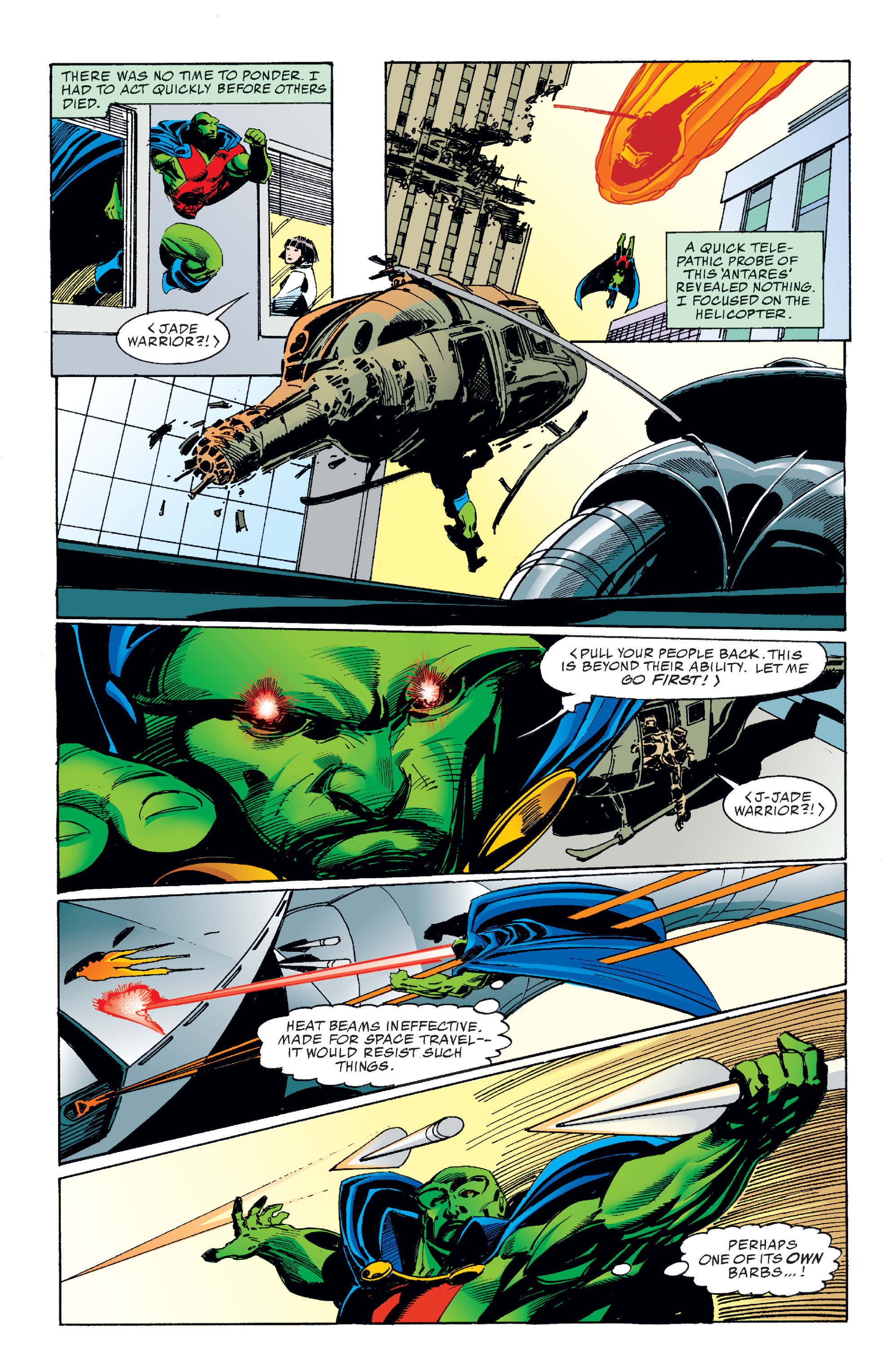 Read online Martian Manhunter: Son of Mars comic -  Issue # TPB - 64