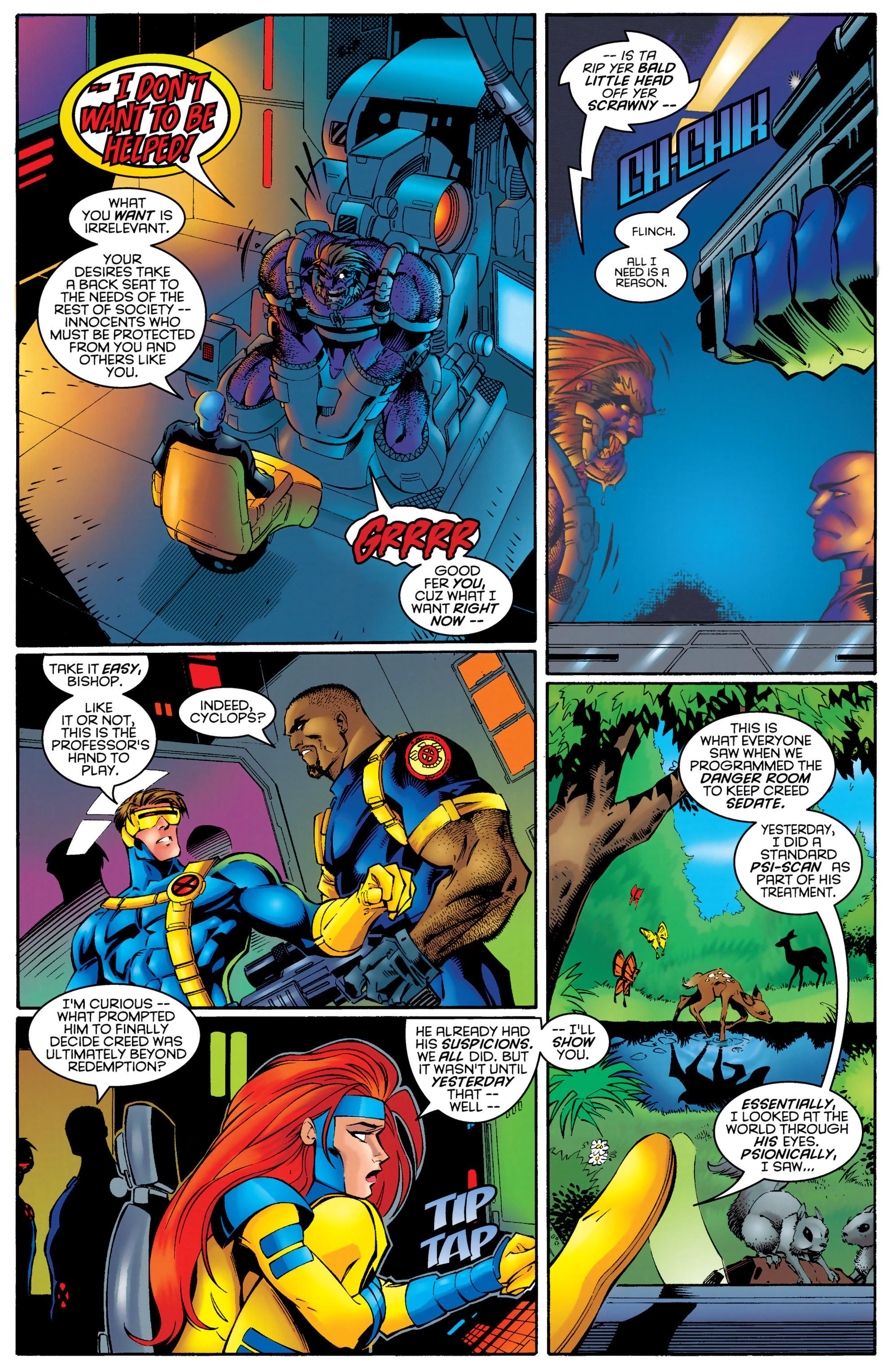 Read online Uncanny X-Men (1963) comic -  Issue #328 - 4