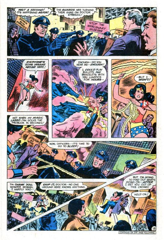 Read online Wonder Woman (1942) comic -  Issue #255 - 21