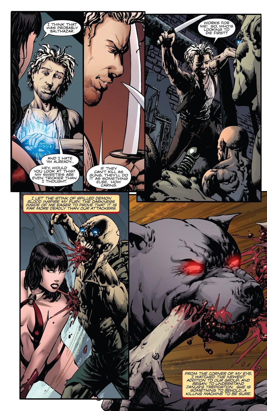Read online Vampirella Strikes comic -  Issue #6 - 5