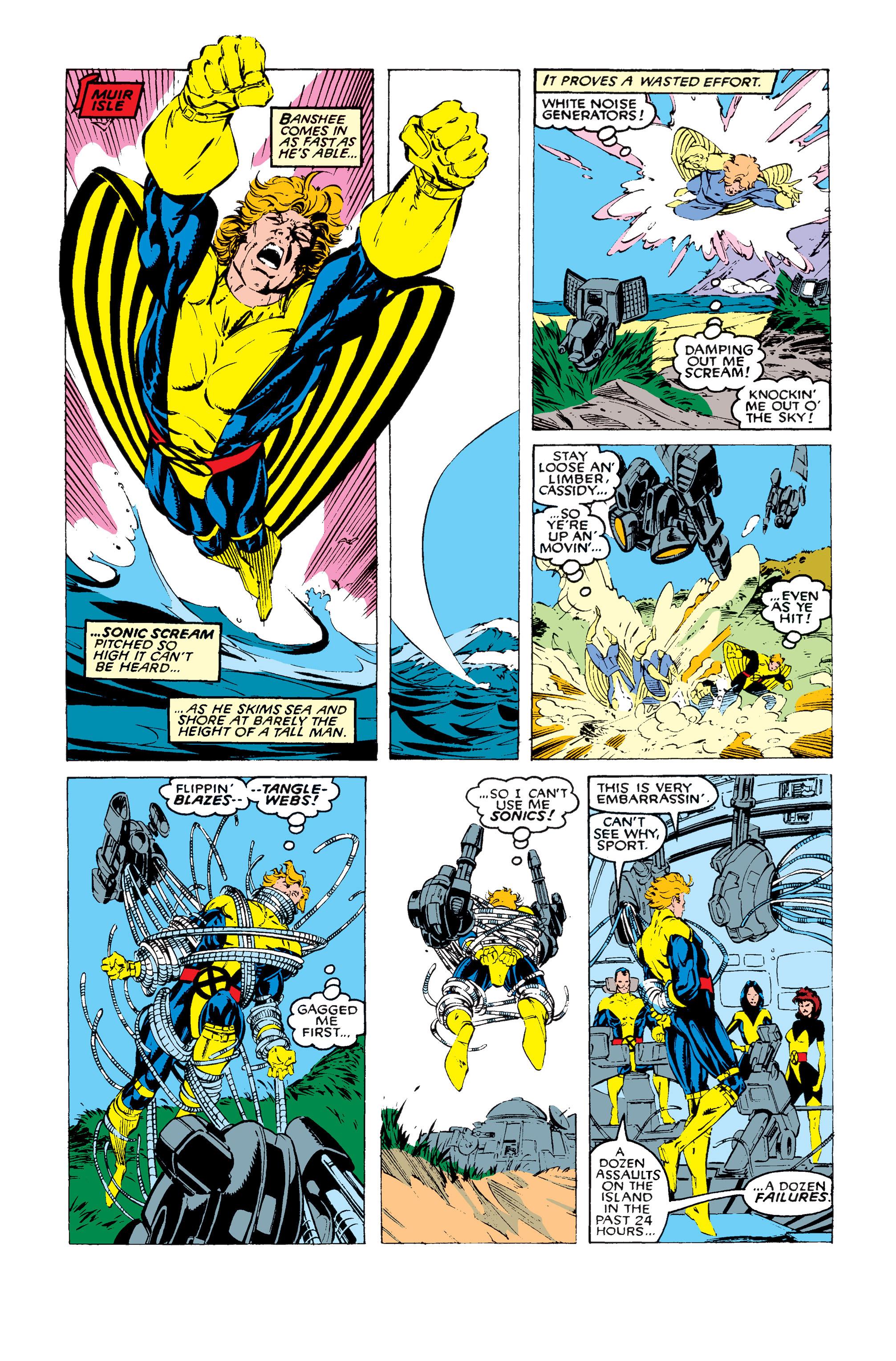 Read online Uncanny X-Men (1963) comic -  Issue #258 - 11