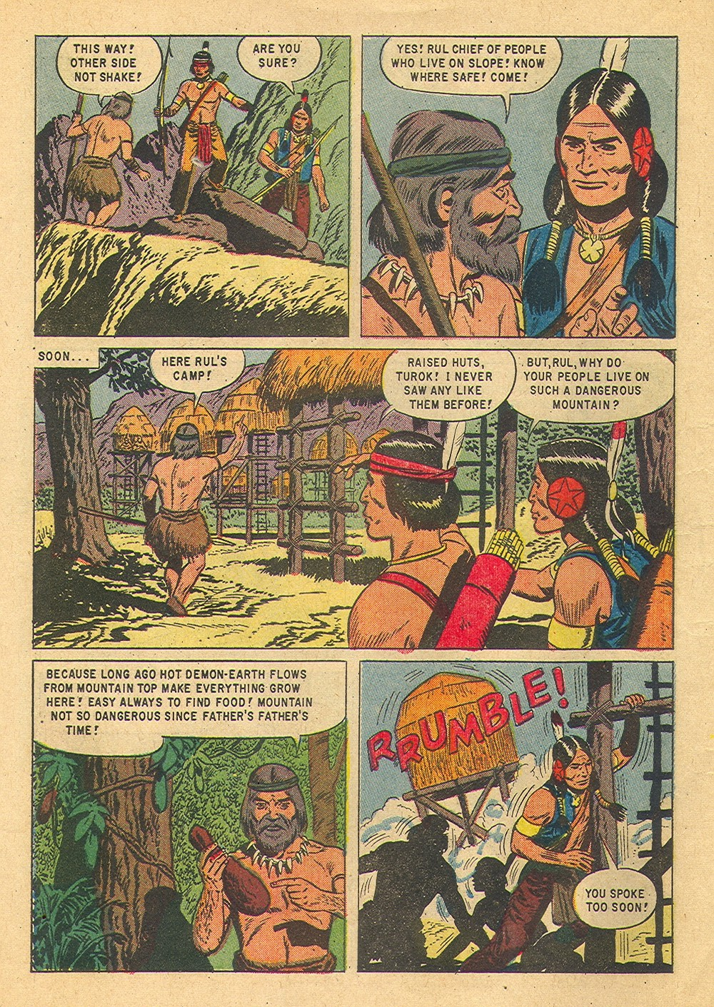 Read online Turok, Son of Stone comic -  Issue #36 - 6