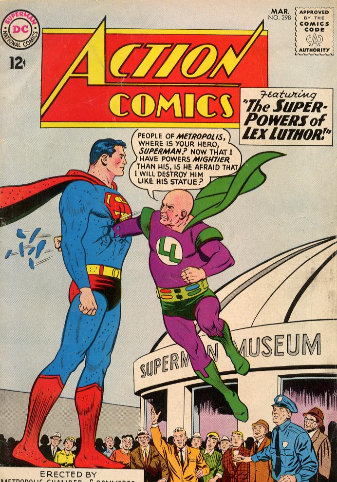 Read online Action Comics (1938) comic -  Issue #298 - 1