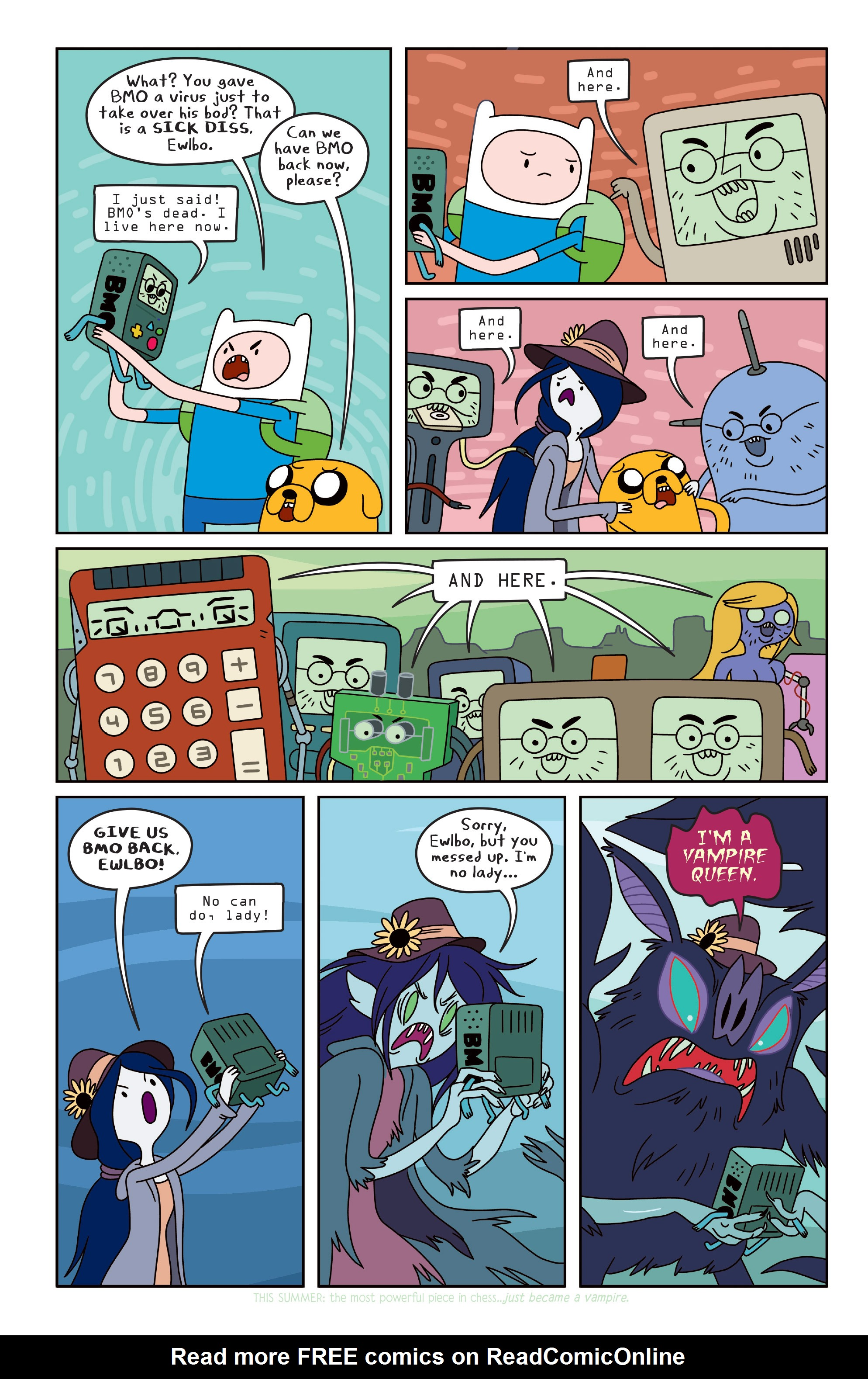 Read online Adventure Time comic -  Issue #Adventure Time _TPB 3 - 54