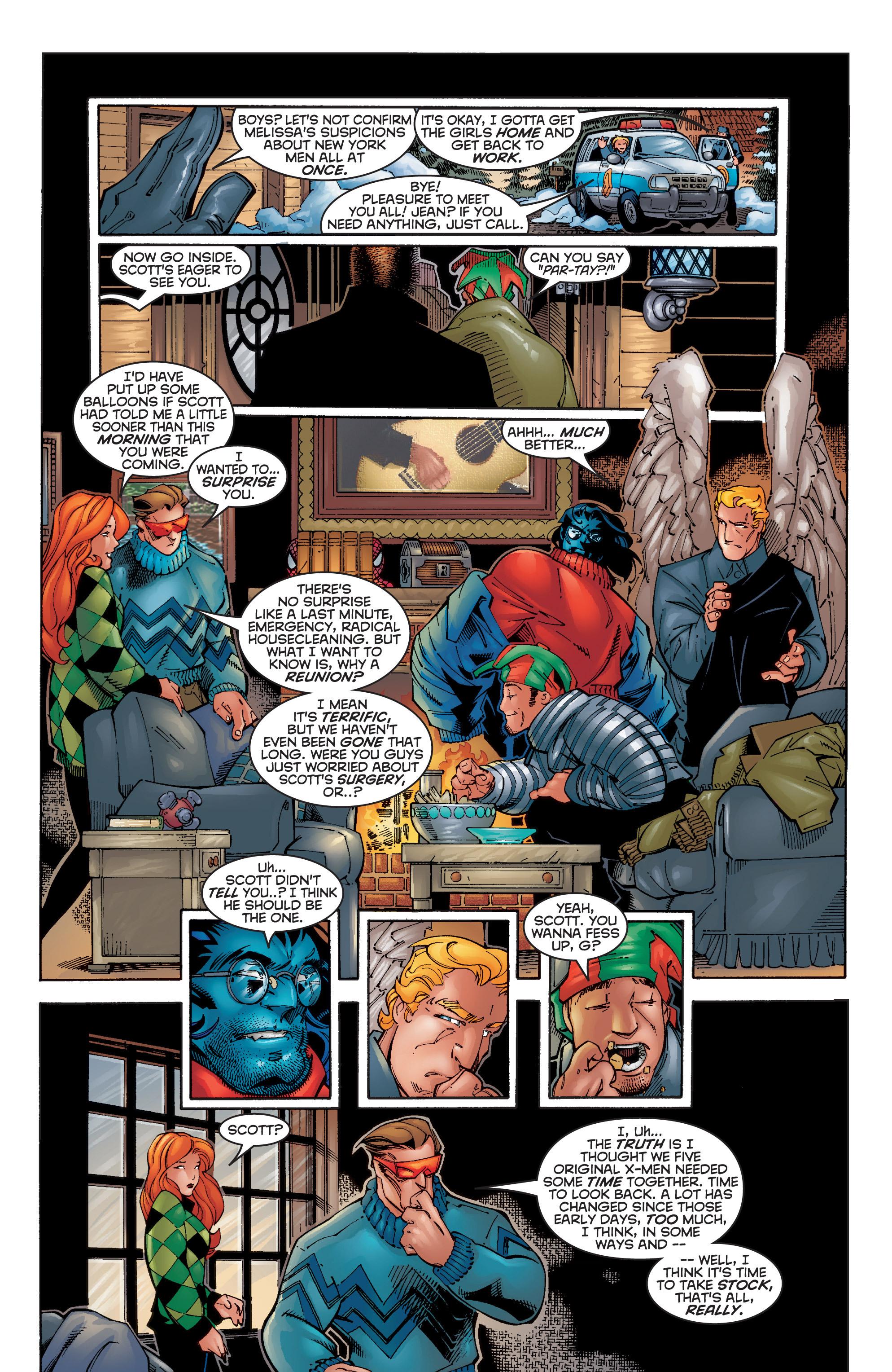 Read online Uncanny X-Men (1963) comic -  Issue #356 - 11