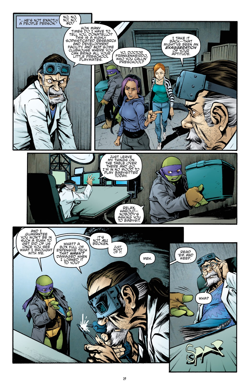 Read online Teenage Mutant Ninja Turtles: The IDW Collection comic -  Issue # TPB 4 (Part 3) - 37