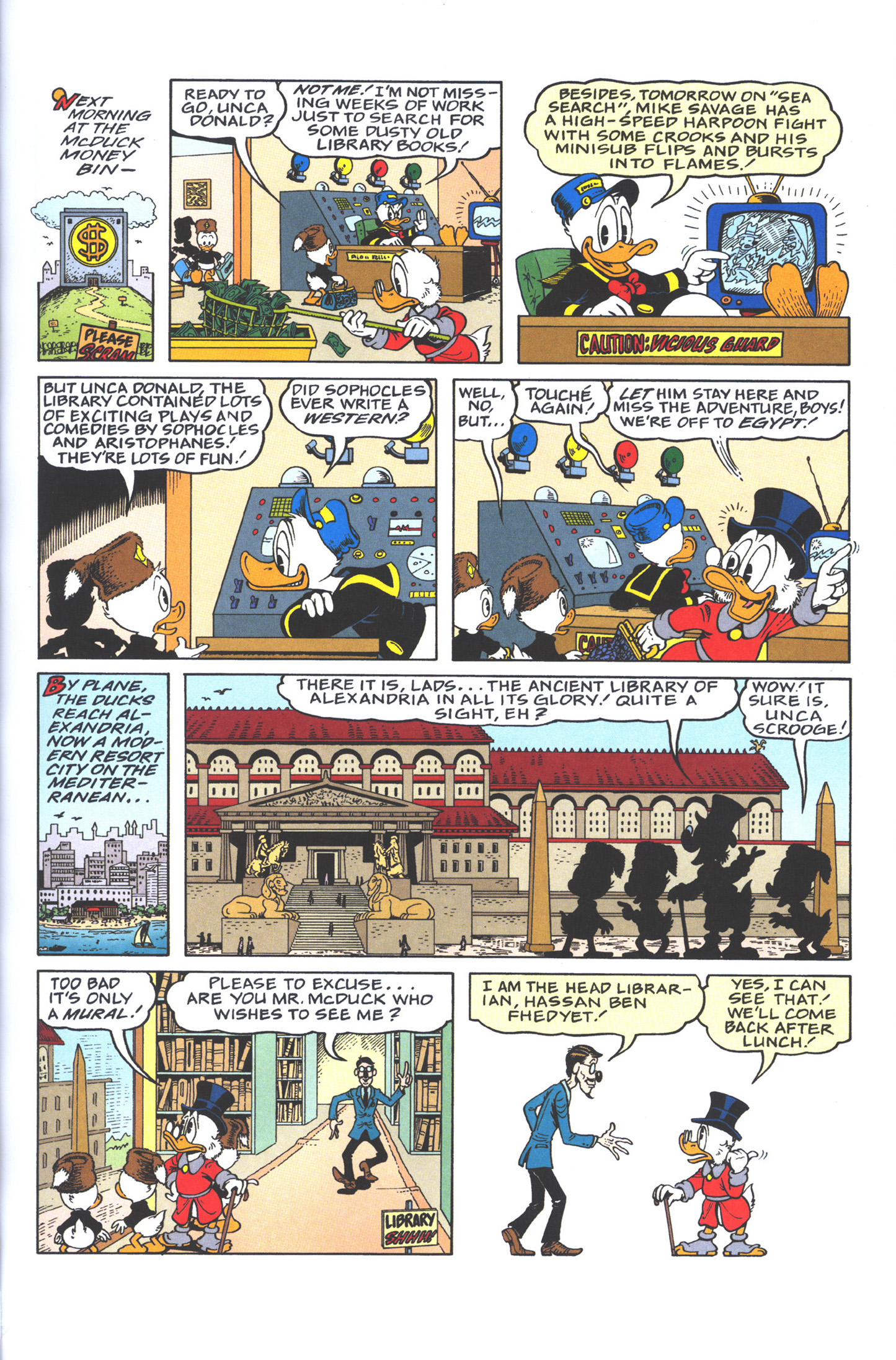 Read online Uncle Scrooge (1953) comic -  Issue #383 - 7