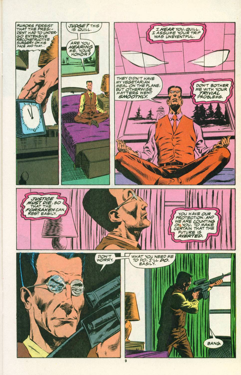 Read online Justice (1986) comic -  Issue #25 - 11
