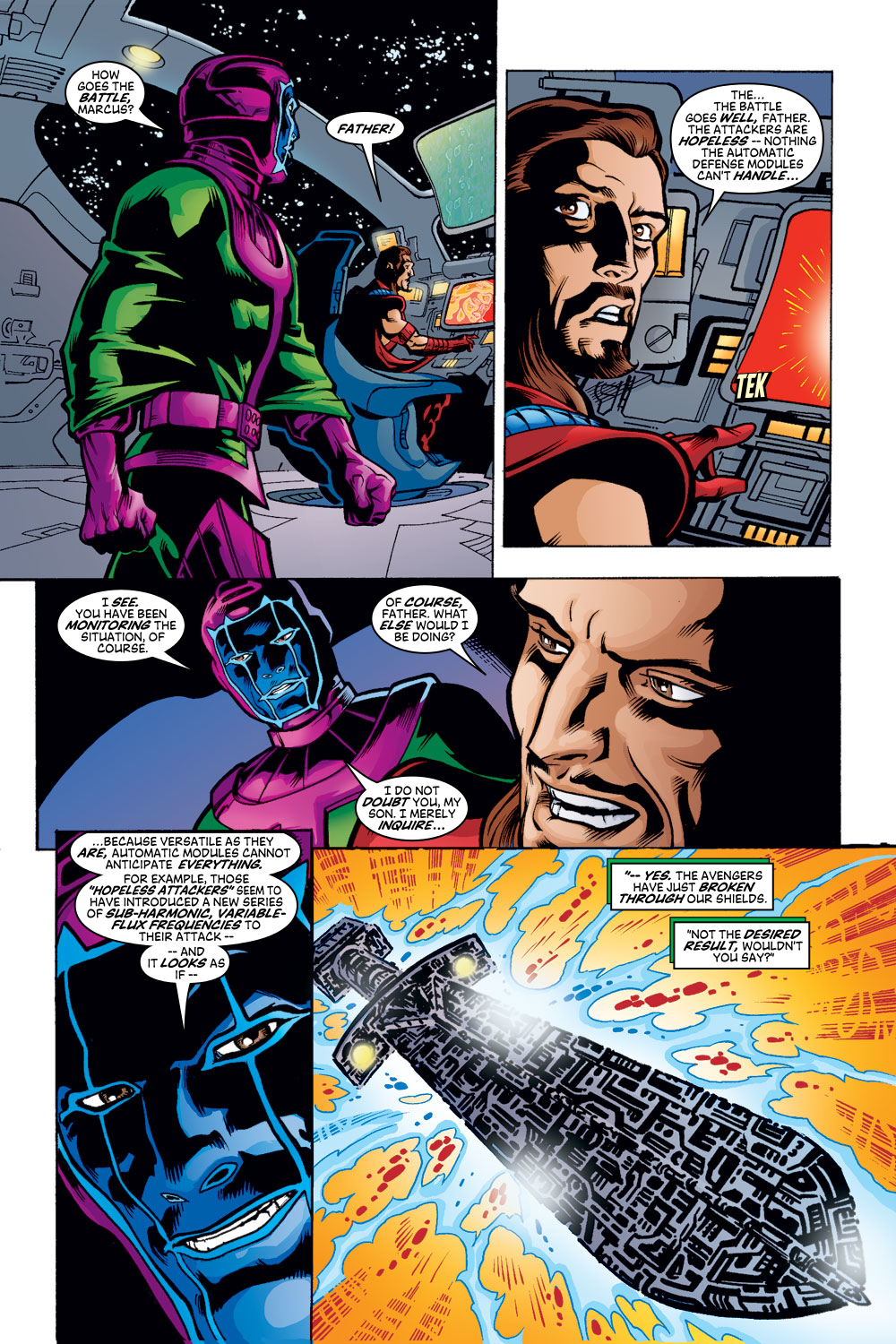 Read online Avengers (1998) comic -  Issue #48 - 12