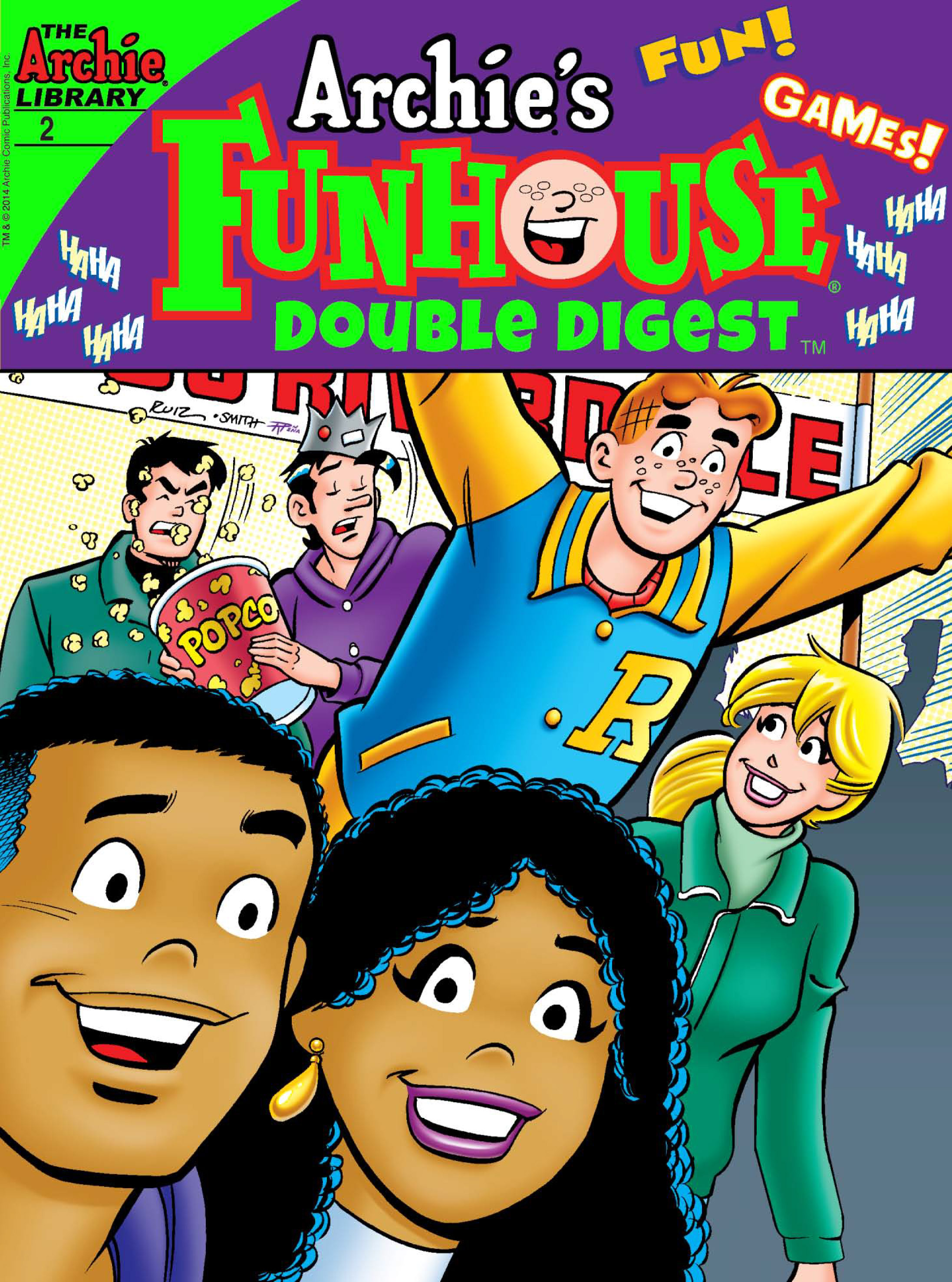 Read online Archie's Funhouse Double Digest comic -  Issue #2 - 1