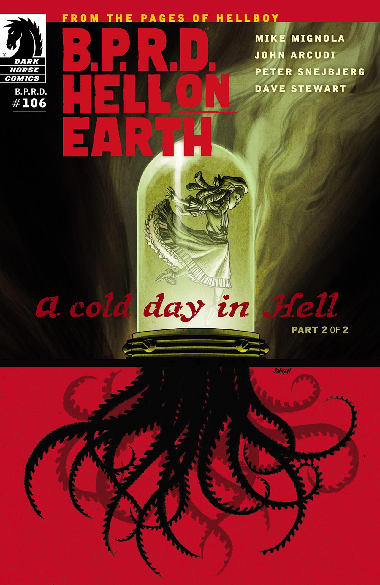 B.P.R.D. Hell on Earth: A Cold Day in Hell issue 106 - Page 1