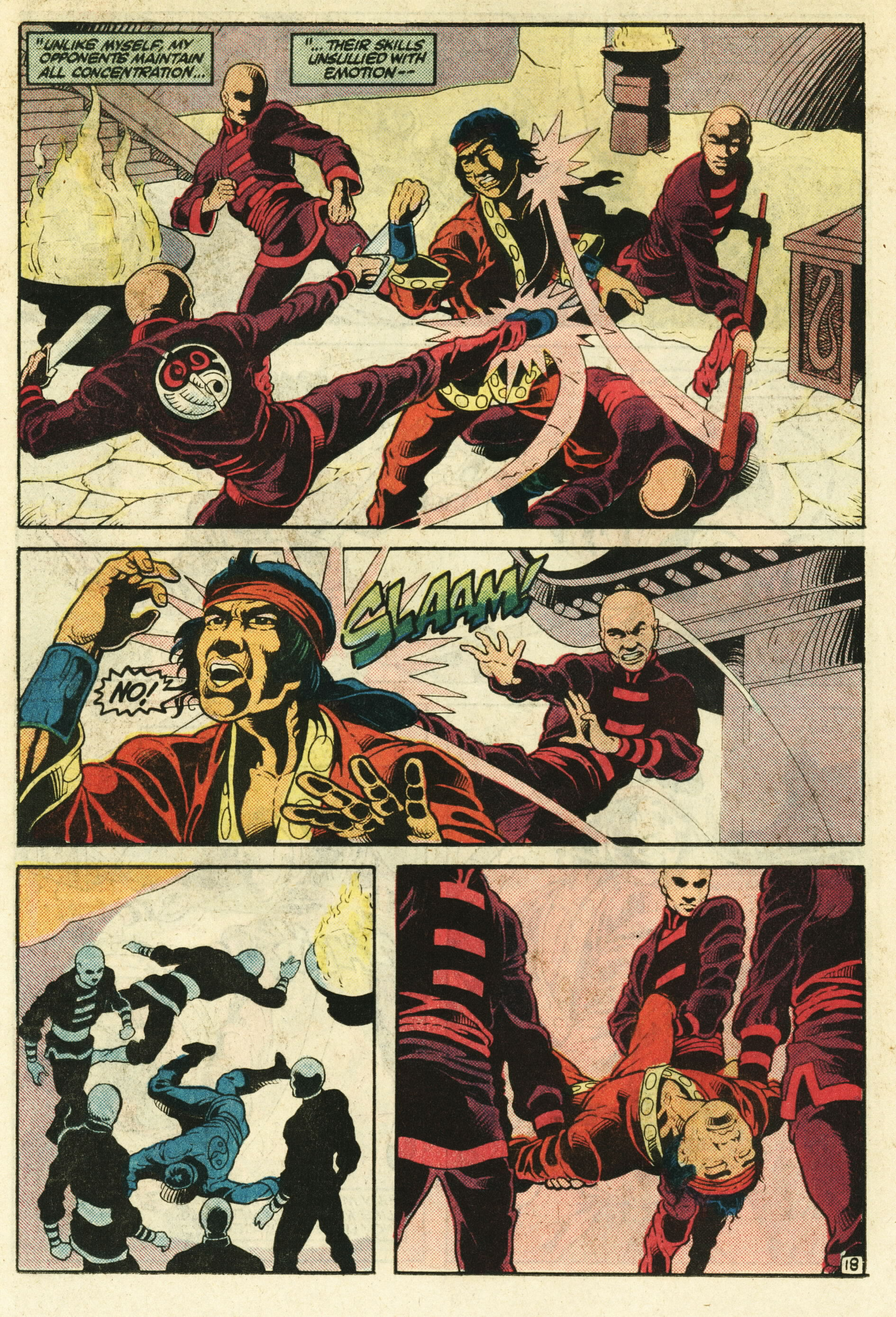 Read online Master of Kung Fu (1974) comic -  Issue #124 - 19