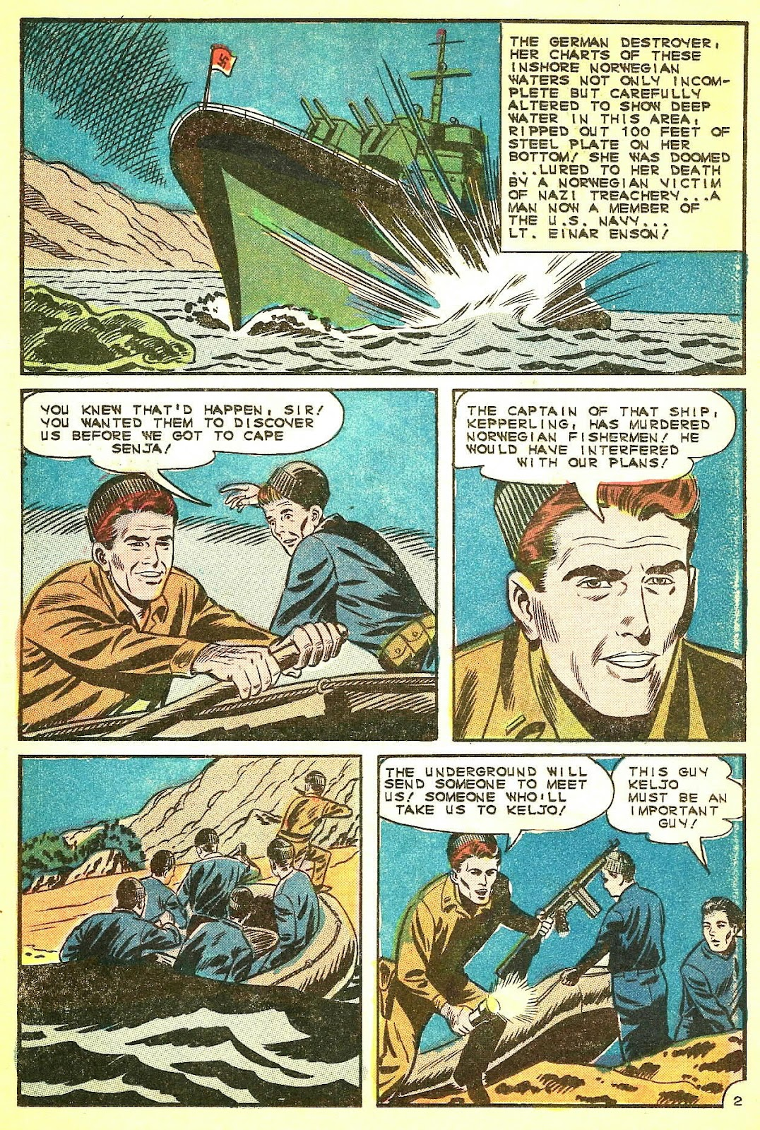 Read online Fightin' Navy comic -  Issue #124 - 16
