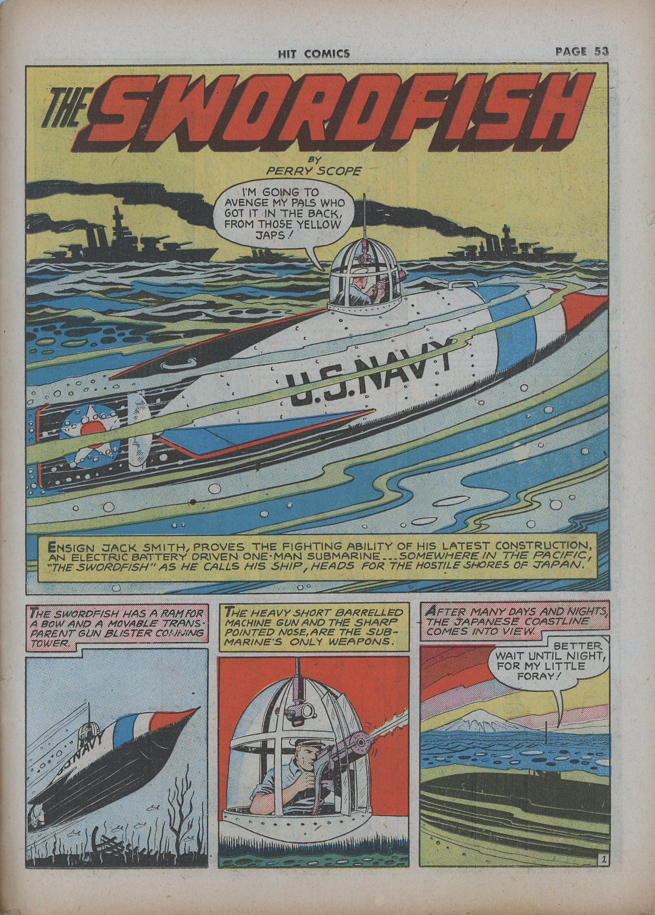 Read online Hit Comics comic -  Issue #22 - 55