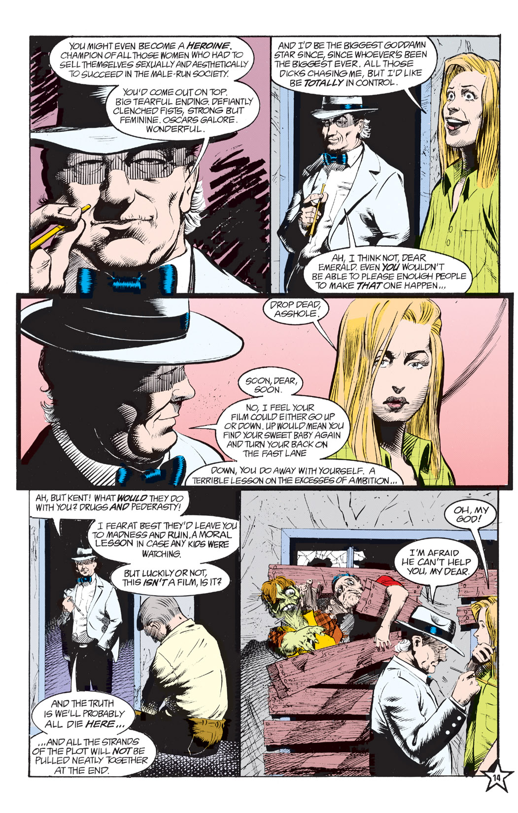 Read online Shade, the Changing Man comic -  Issue #6 - 16