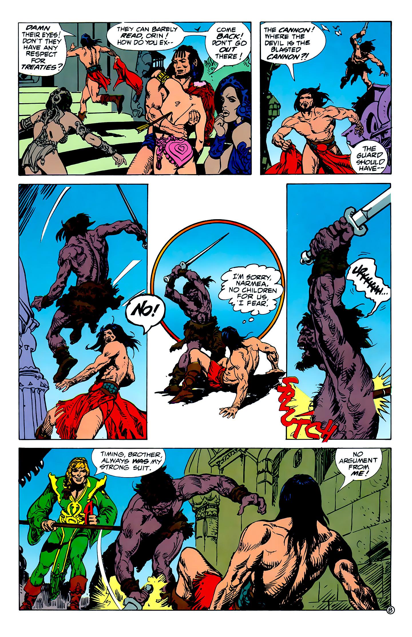 Read online Atlantis Chronicles comic -  Issue #1 - 8